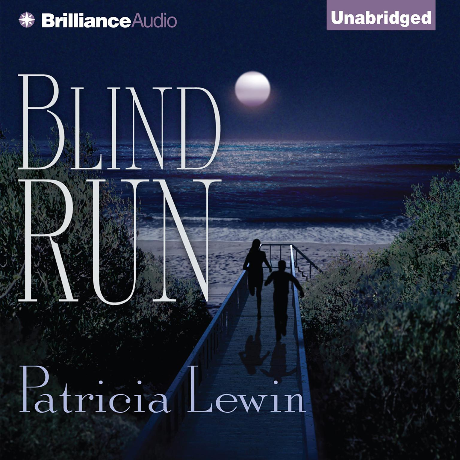 Printable Blind Run Audiobook Cover Art