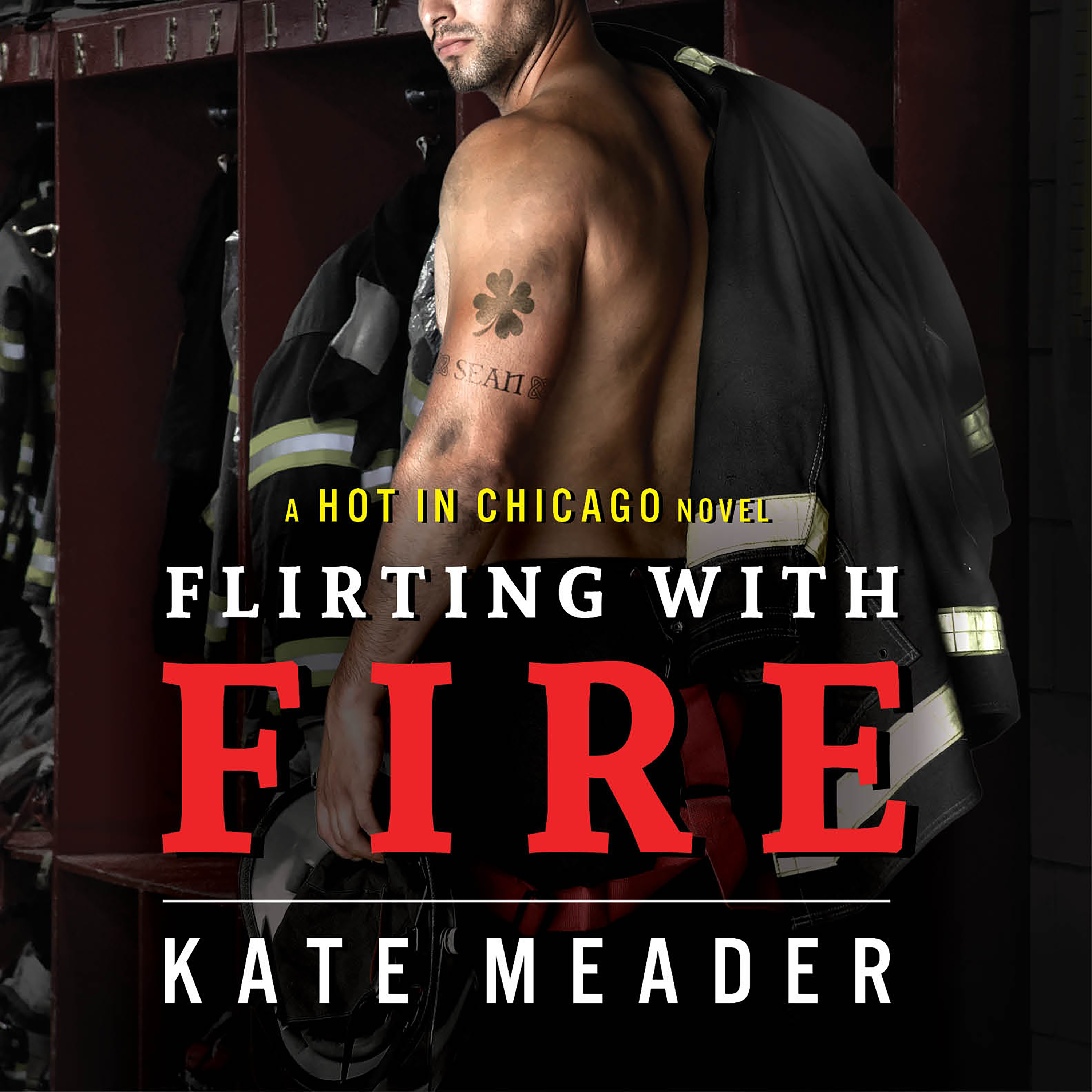 Printable Flirting With Fire Audiobook Cover Art