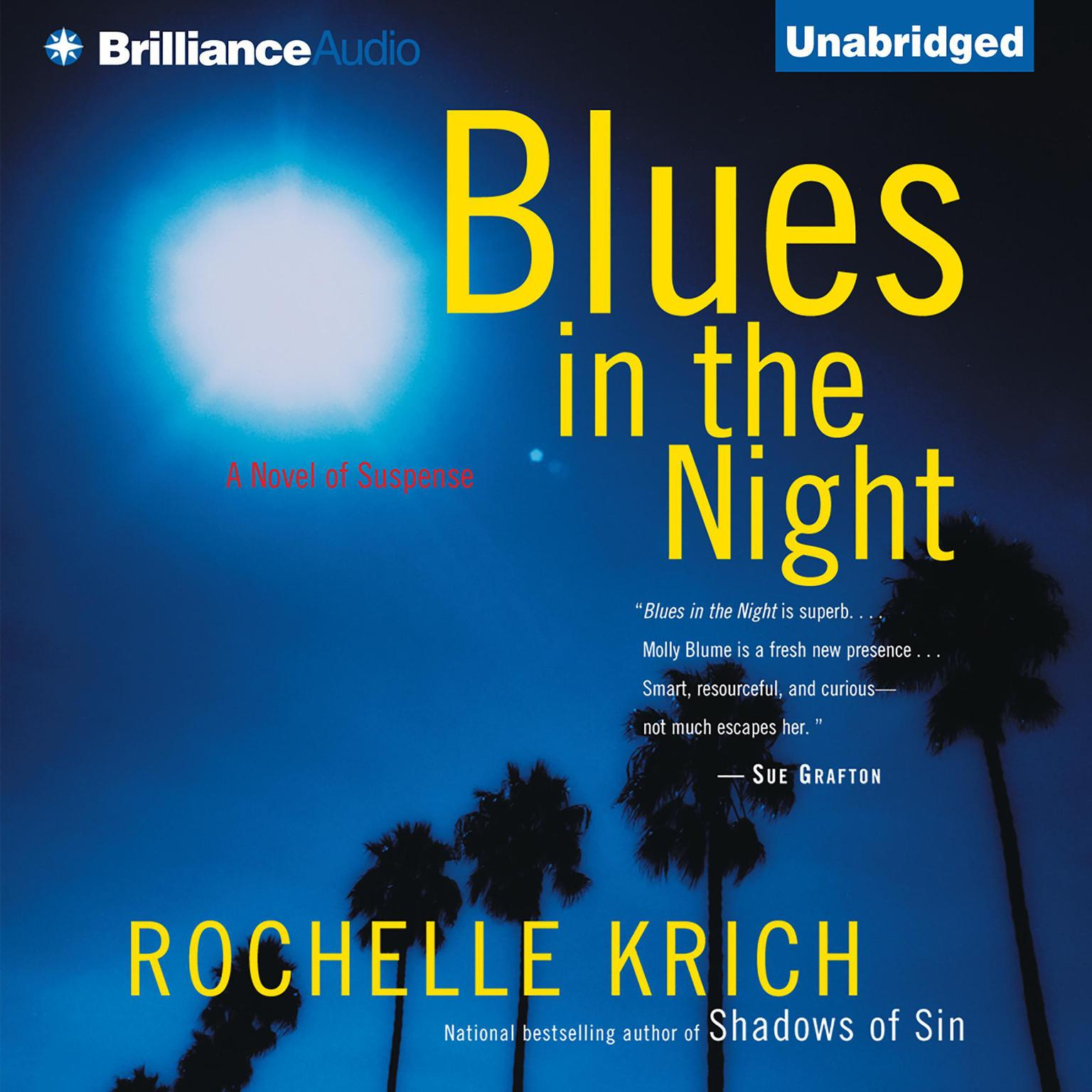 Printable Blues in the Night Audiobook Cover Art