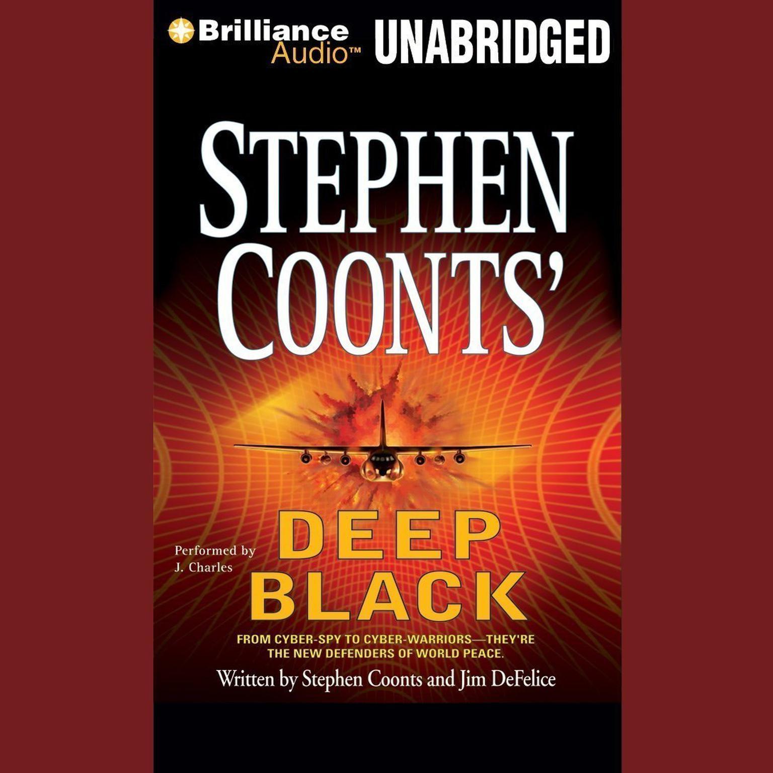 Printable Deep Black Audiobook Cover Art
