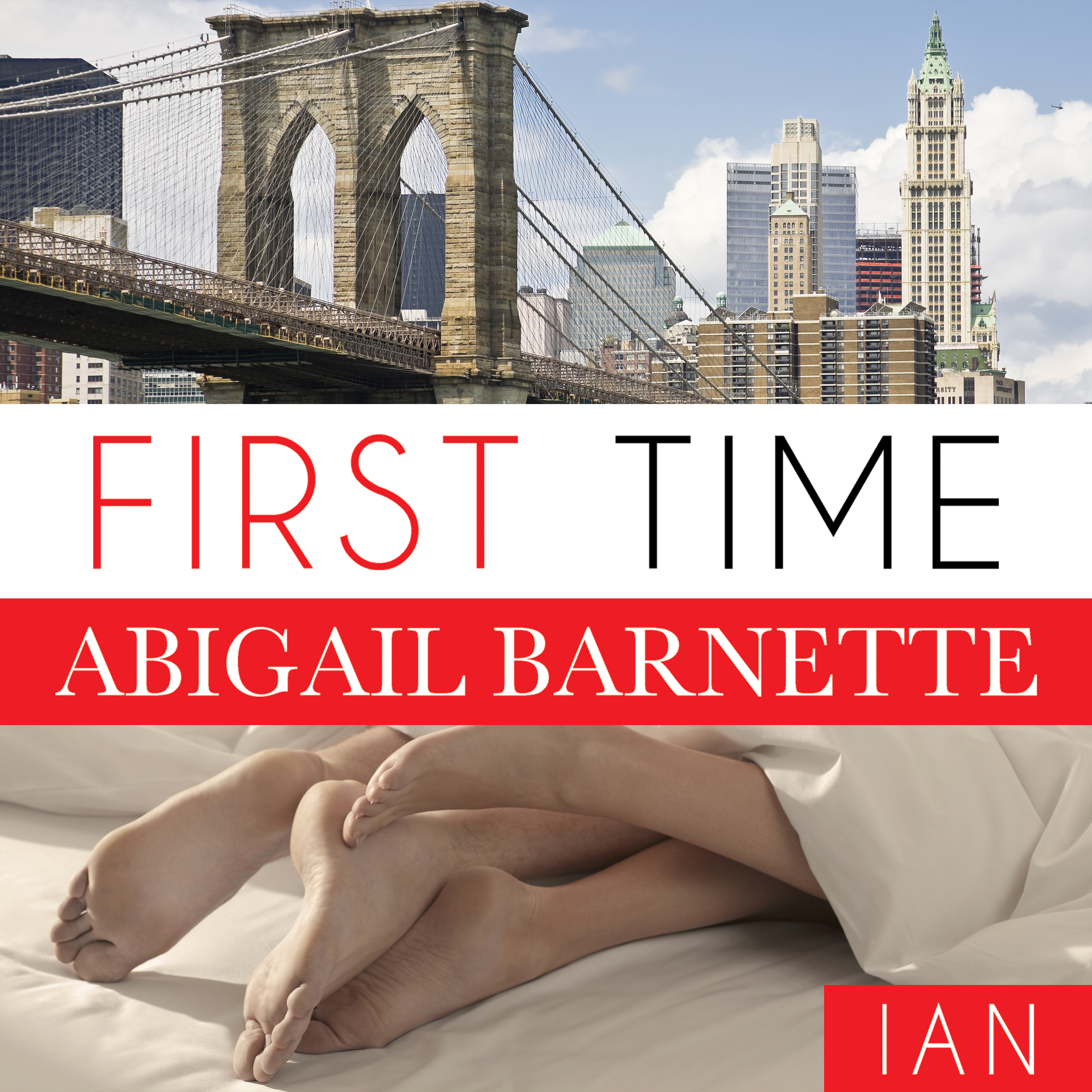 Printable First Time: Ian's Story Audiobook Cover Art