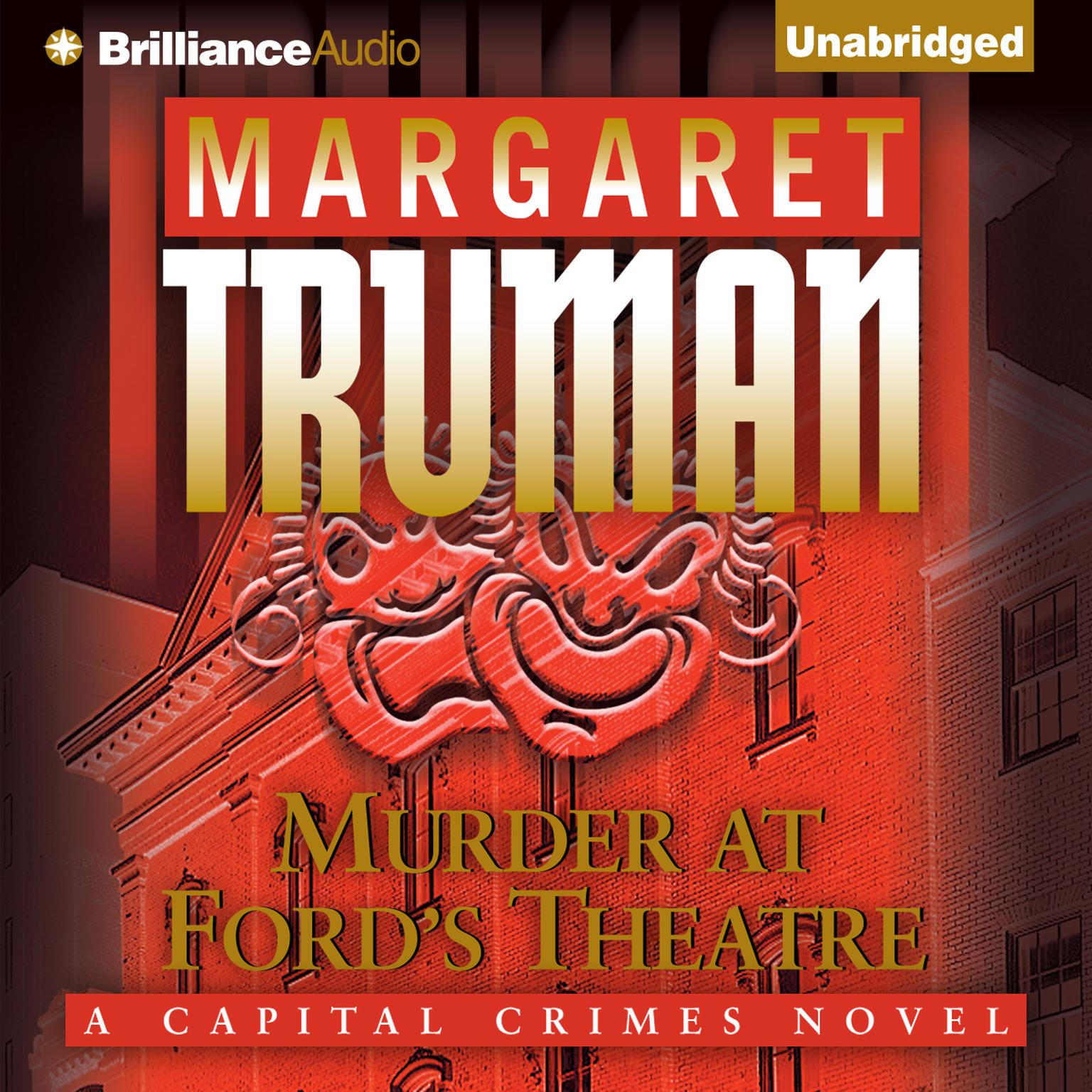Printable Murder at Ford's Theatre Audiobook Cover Art
