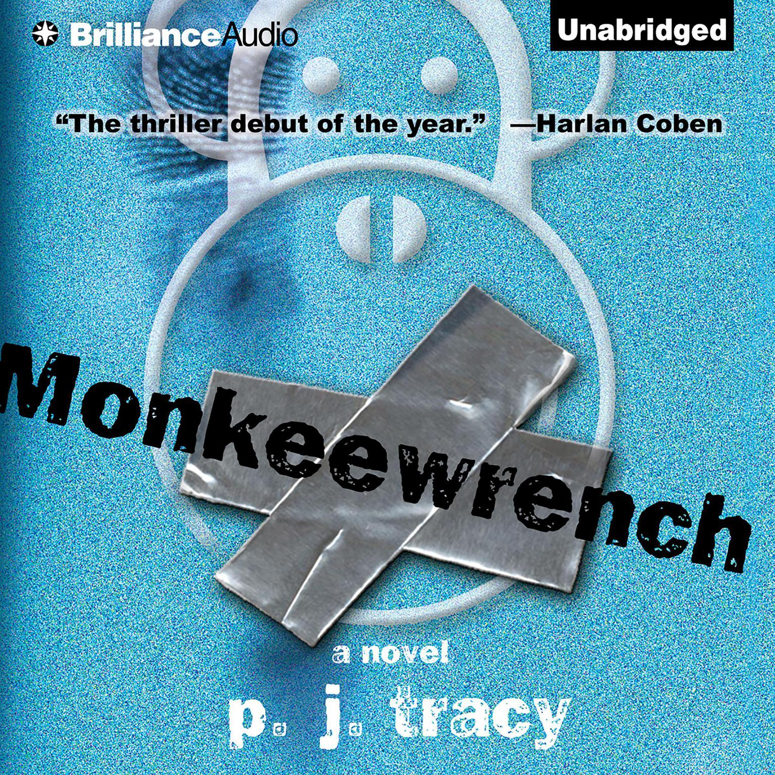 Printable Monkeewrench Audiobook Cover Art
