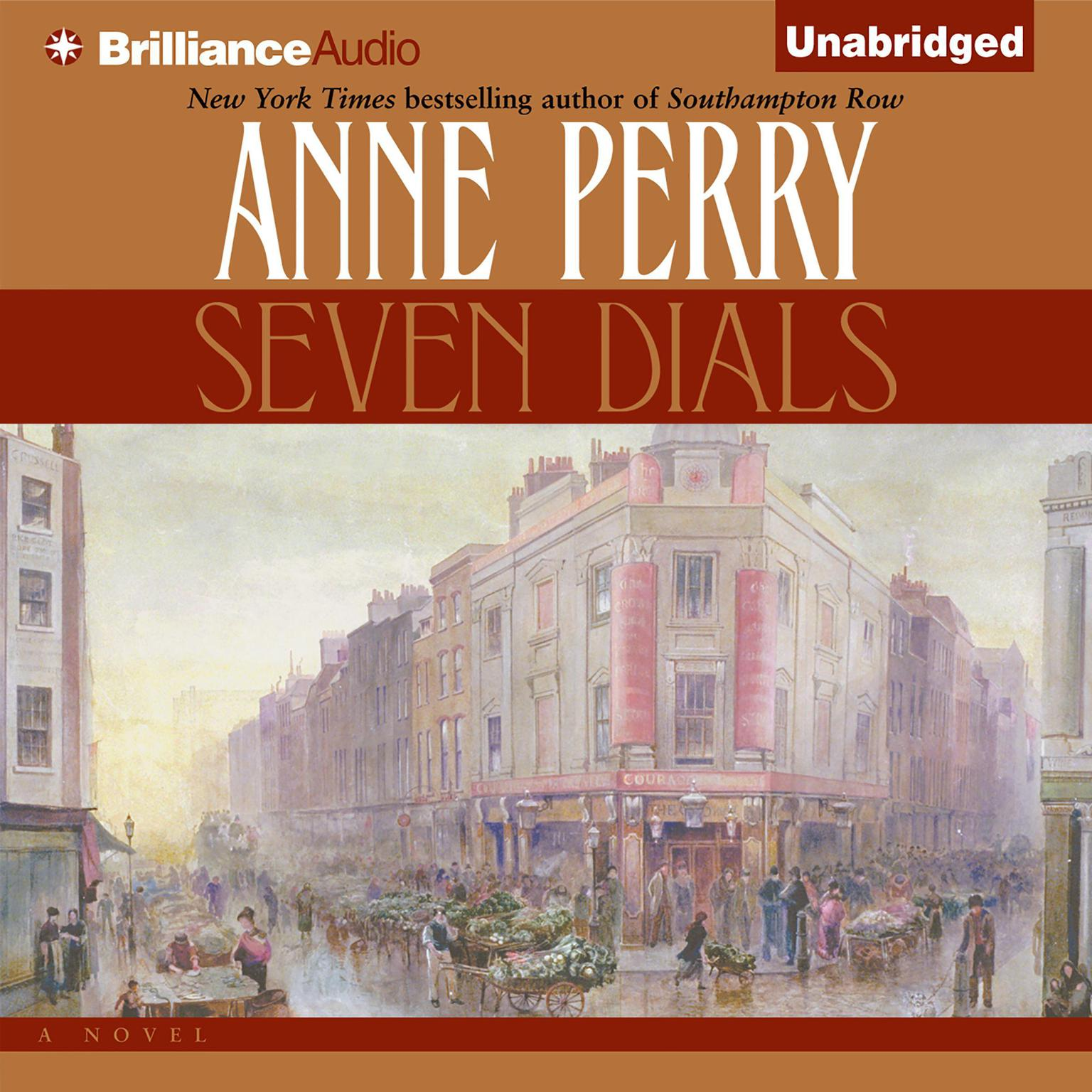 Printable Seven Dials Audiobook Cover Art