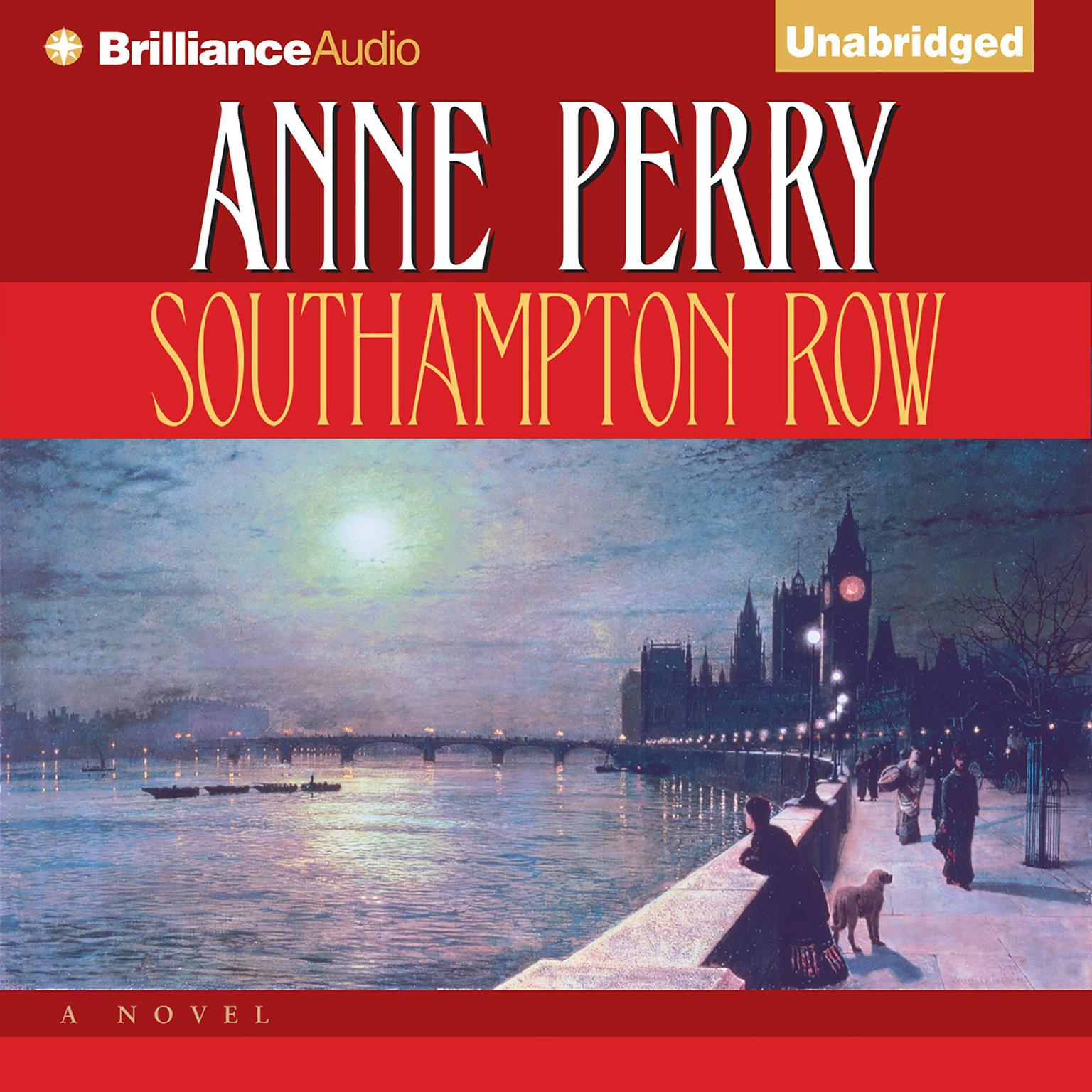Printable Southampton Row Audiobook Cover Art