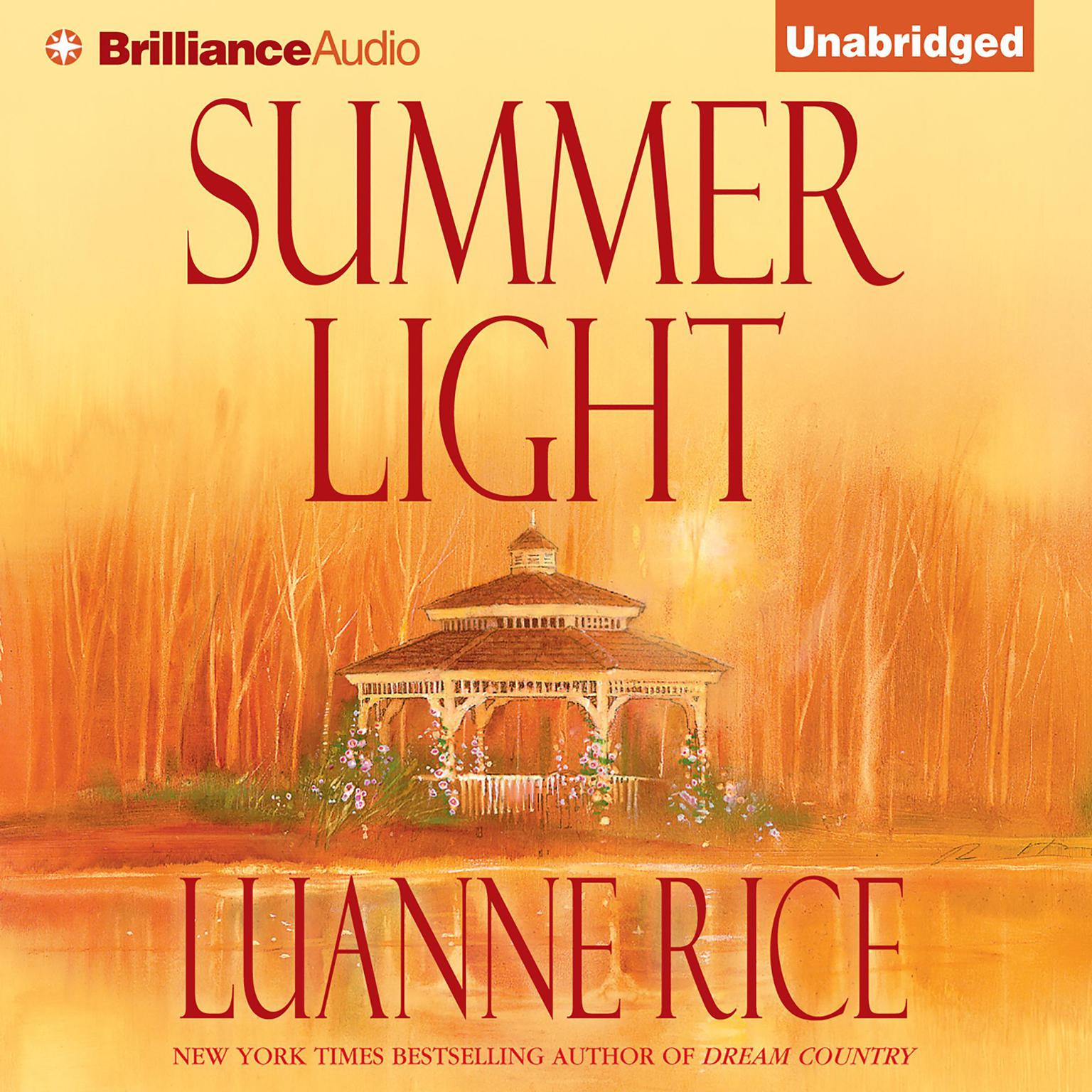 Printable Summer Light Audiobook Cover Art