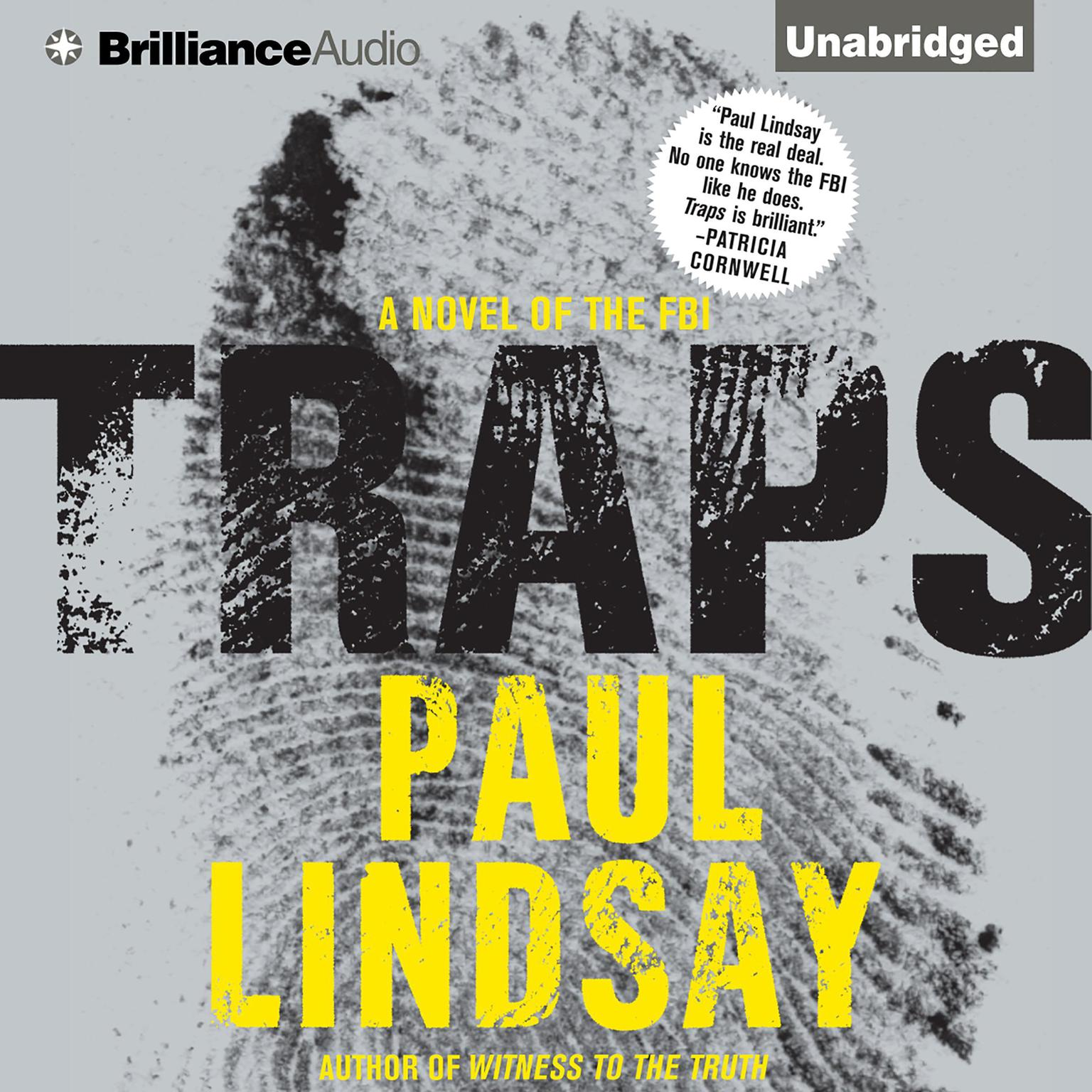 Printable Traps: A Novel of the FBI Audiobook Cover Art