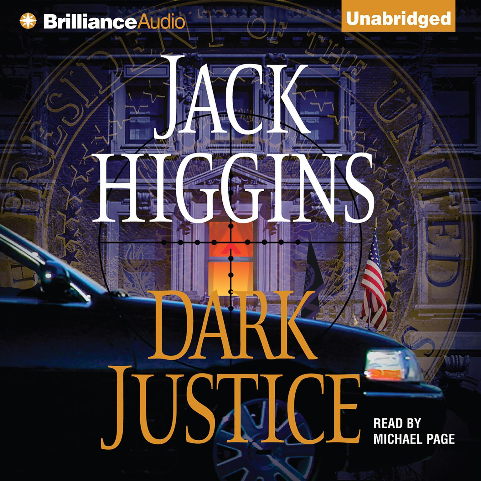 Printable Dark Justice Audiobook Cover Art