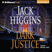 Dark Justice Audiobook, by Jack Higgins