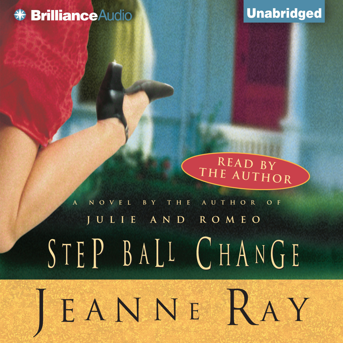 Printable Step-Ball-Change Audiobook Cover Art