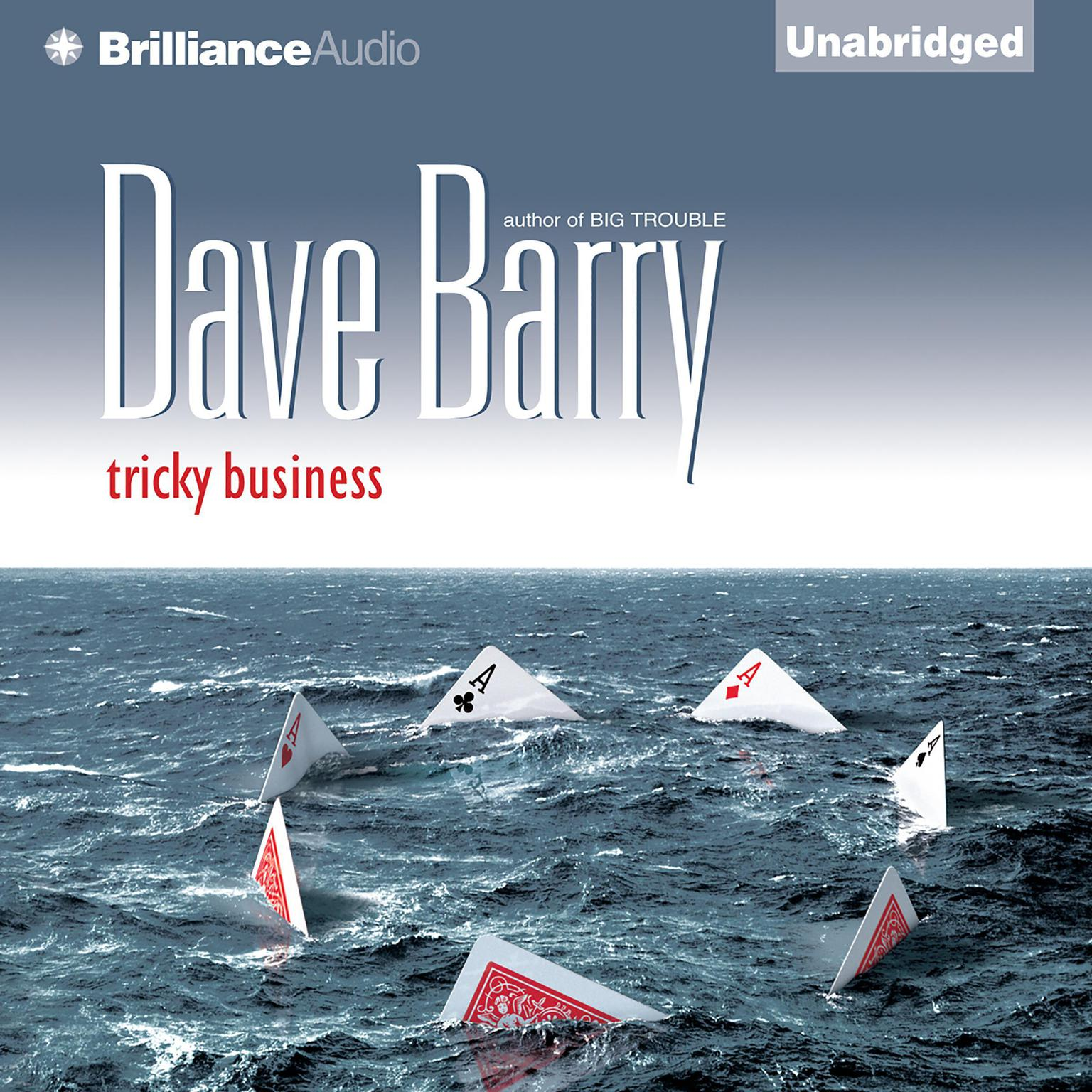 Printable Tricky Business Audiobook Cover Art