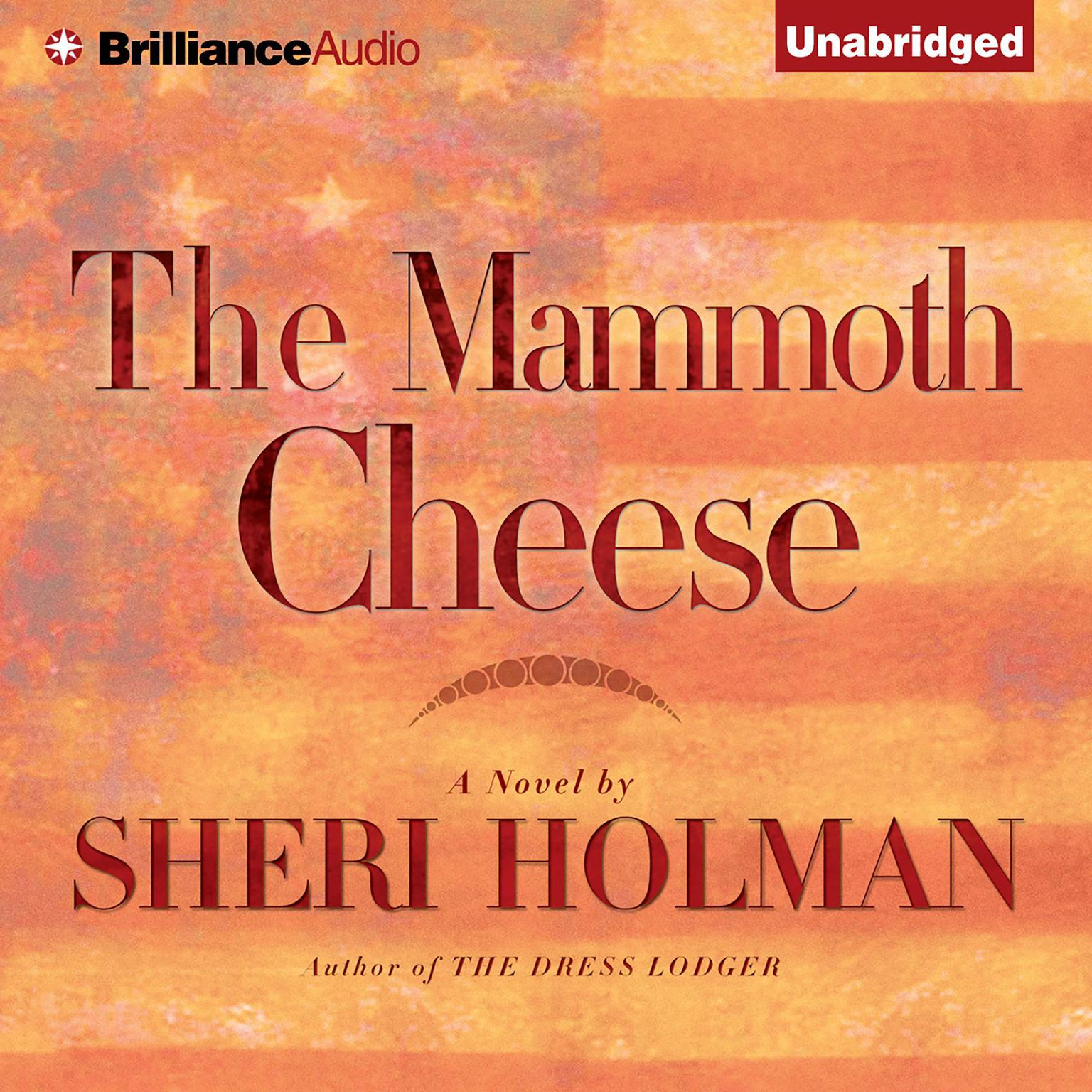 Printable The Mammoth Cheese Audiobook Cover Art