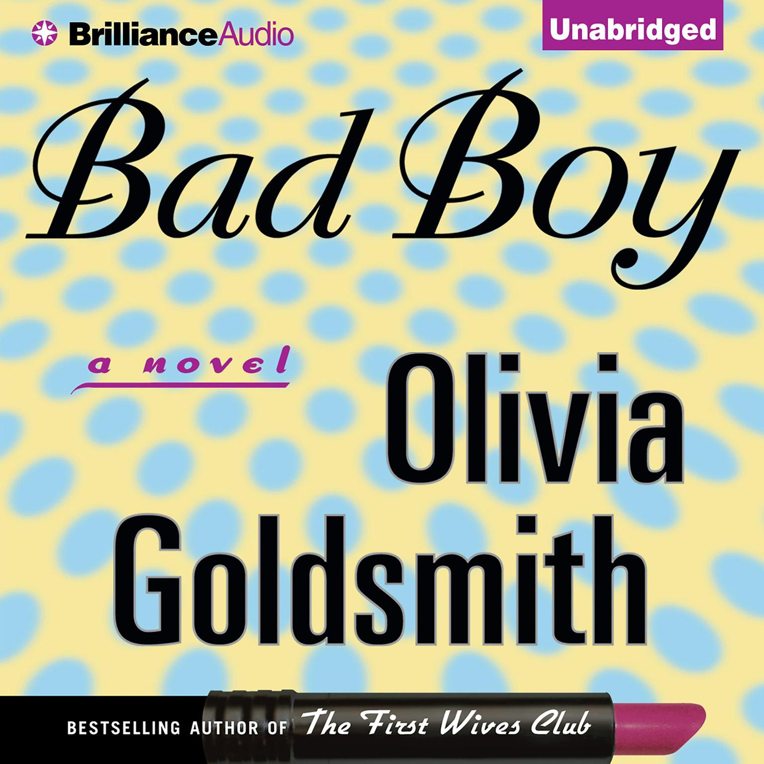 Printable Bad Boy Audiobook Cover Art