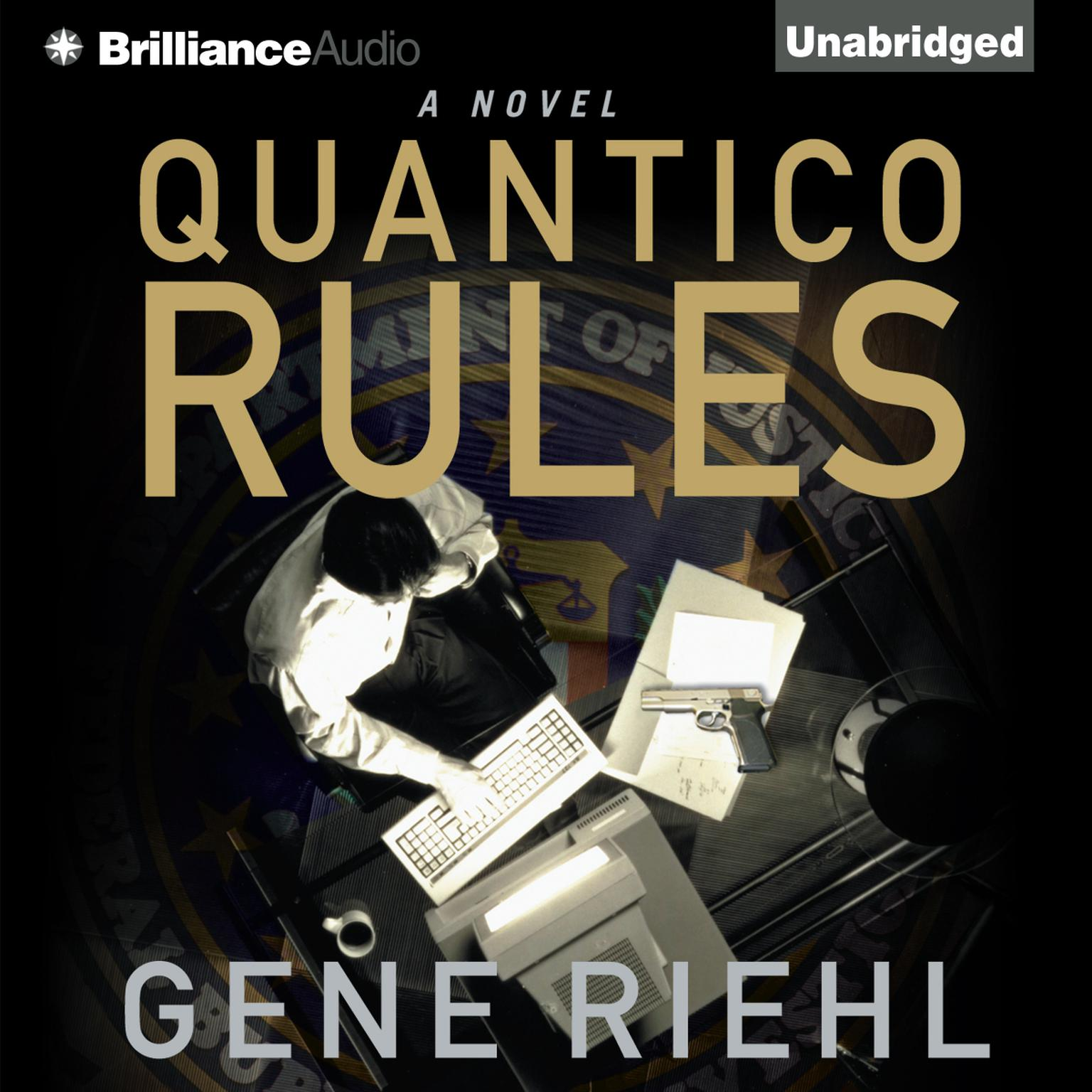 Printable Quantico Rules Audiobook Cover Art