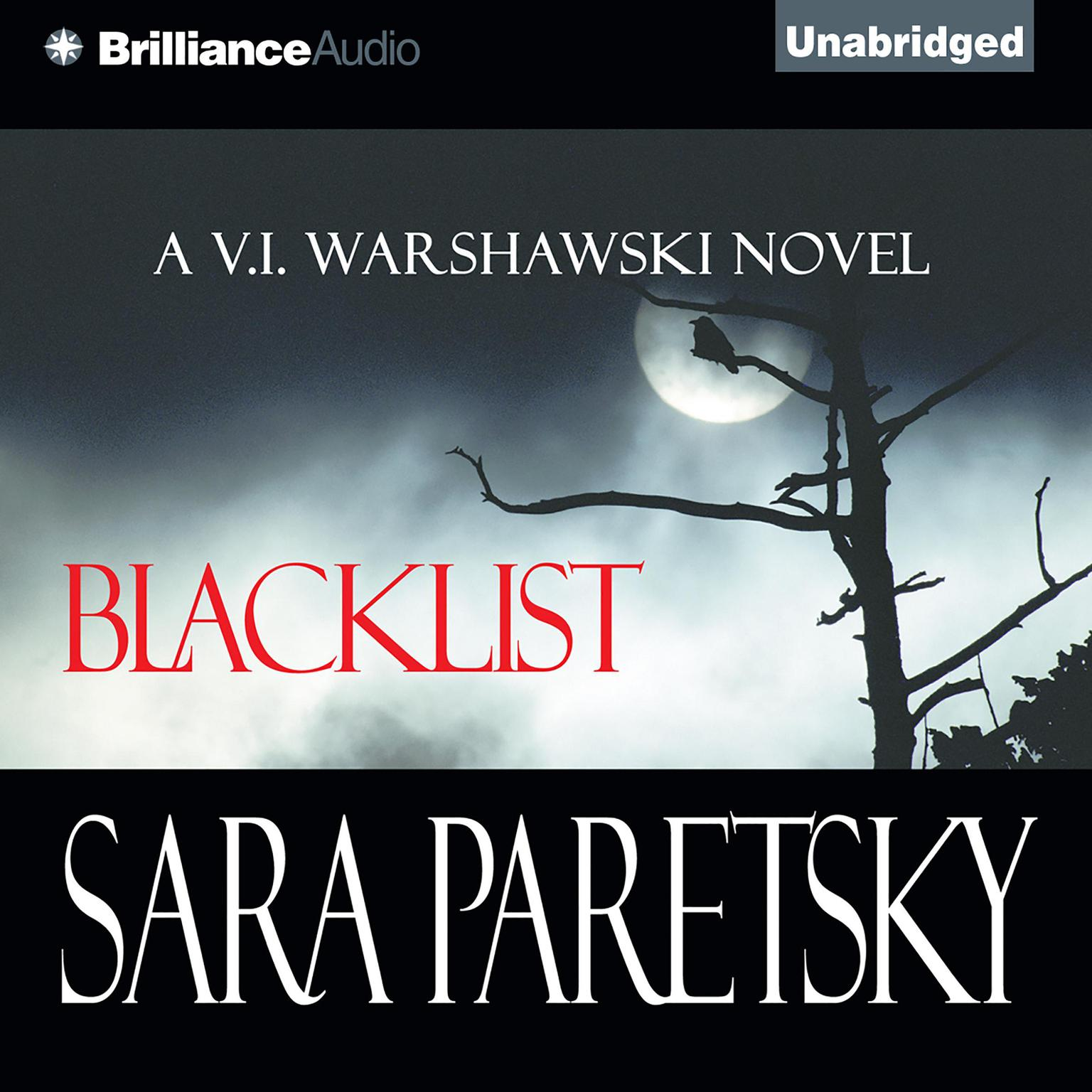 Printable Blacklist Audiobook Cover Art
