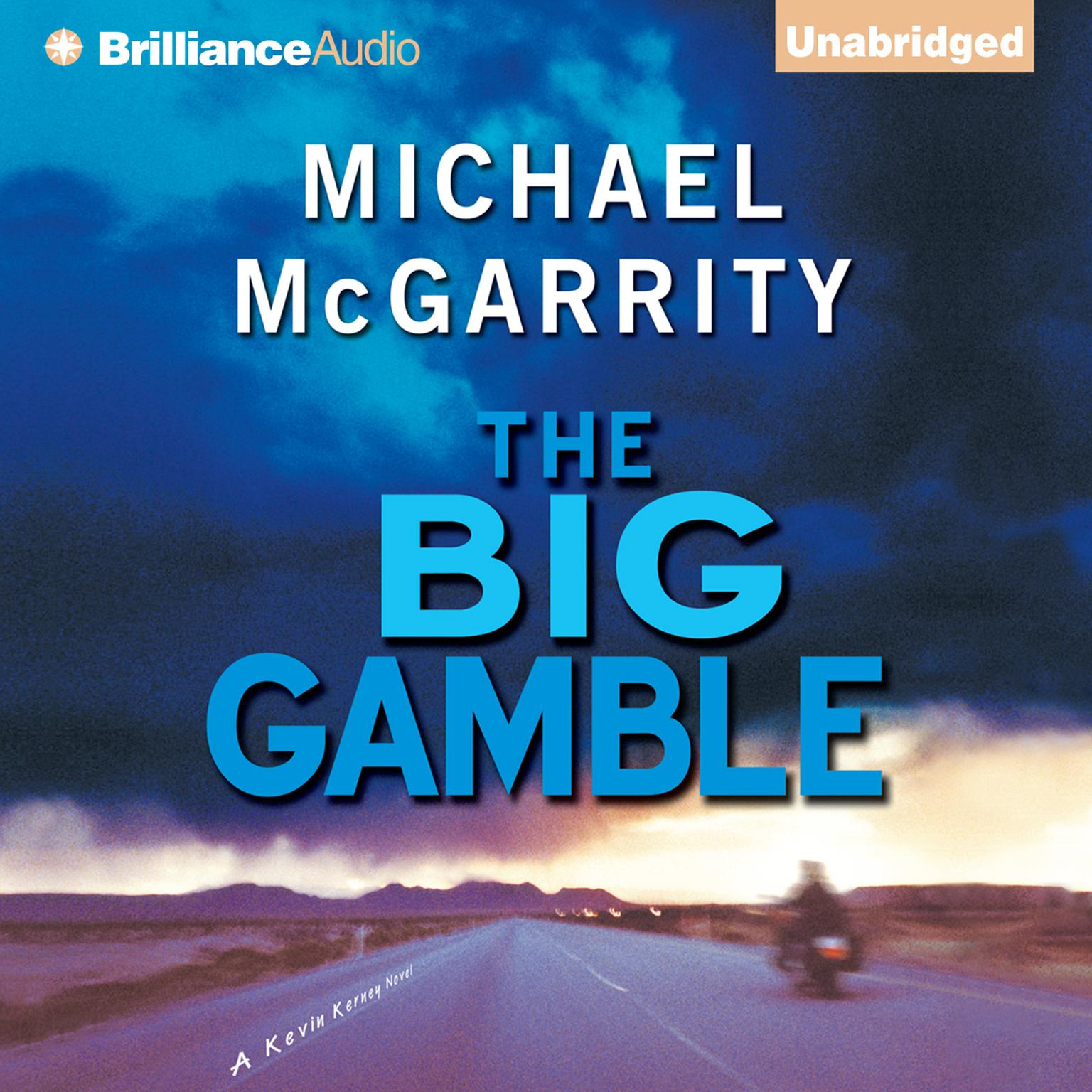 Printable The Big Gamble Audiobook Cover Art