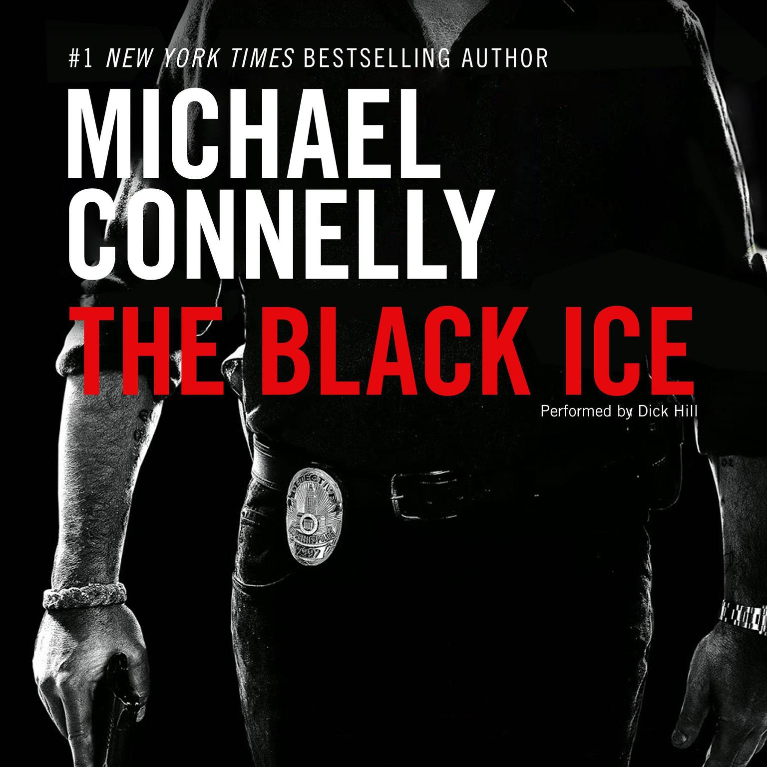 Printable The Black Ice Audiobook Cover Art