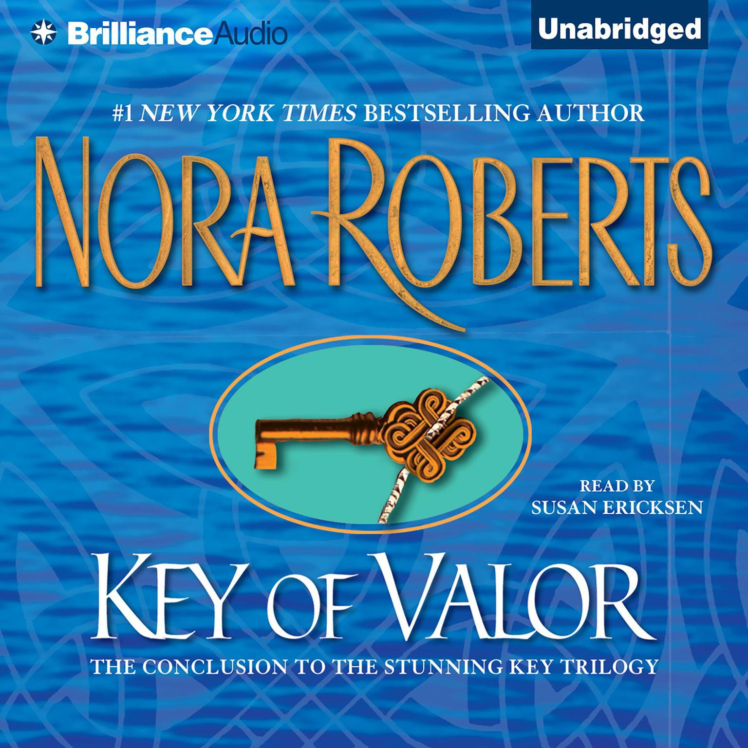 Printable Key of Valor Audiobook Cover Art