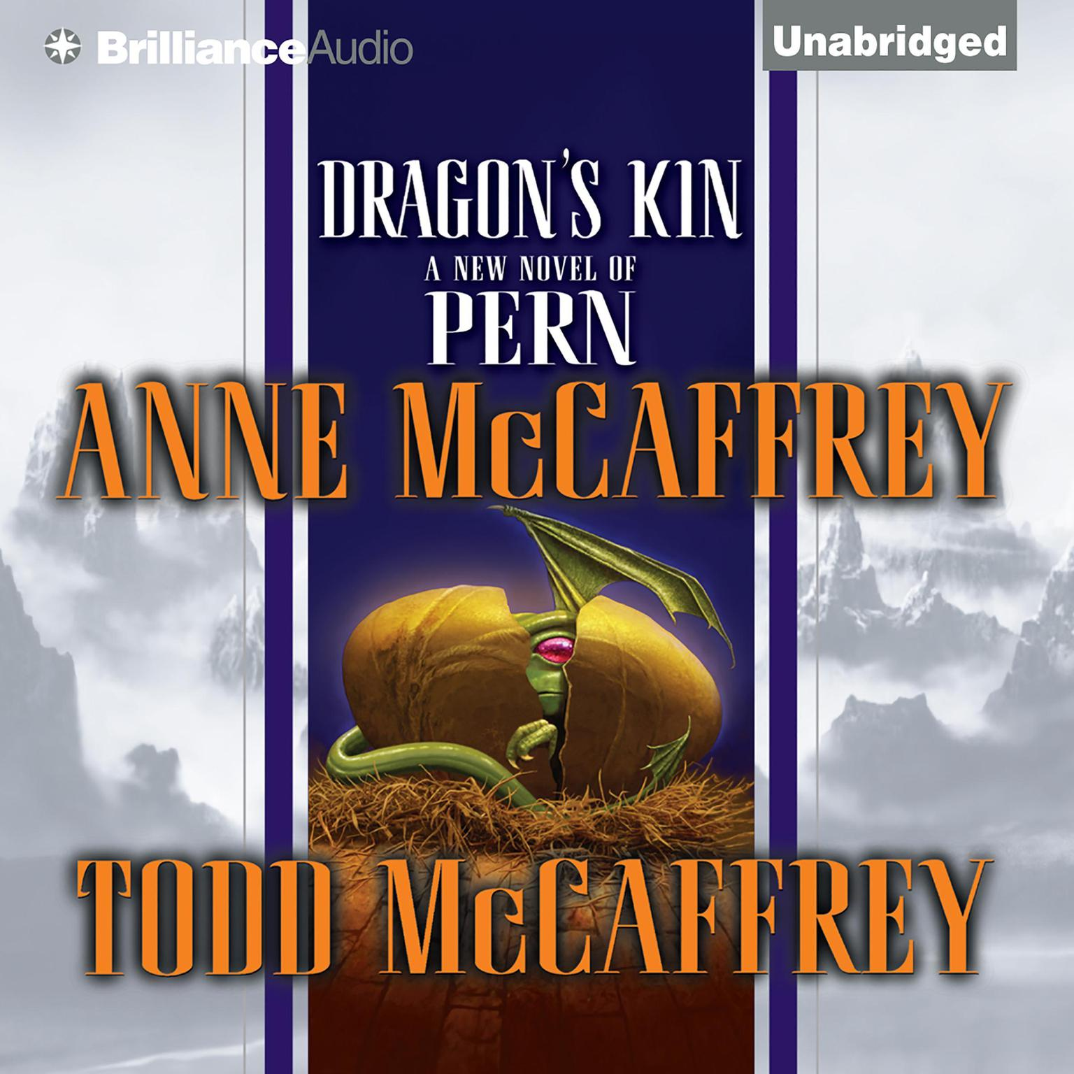 Printable Dragon's Kin Audiobook Cover Art