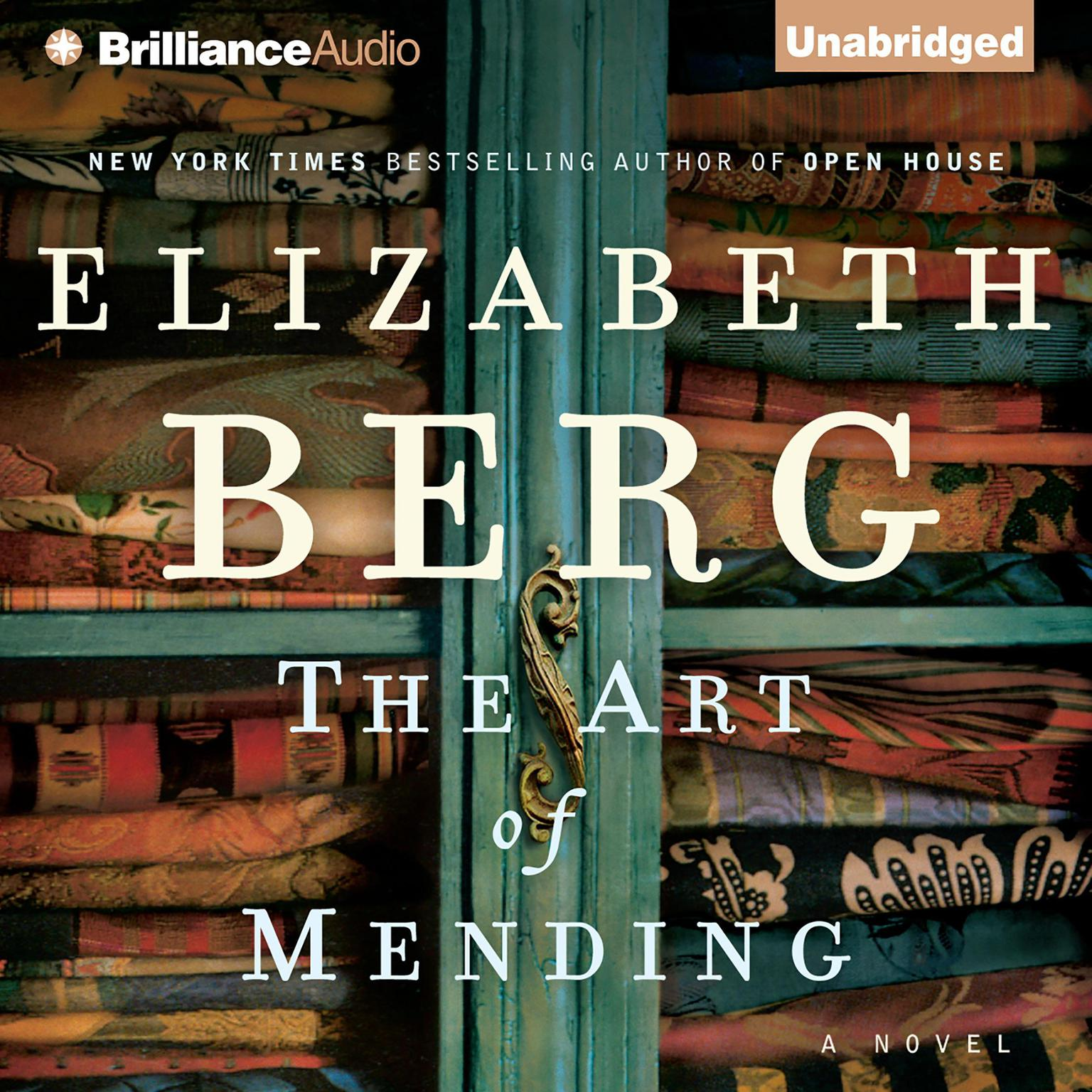 Printable The Art of Mending Audiobook Cover Art