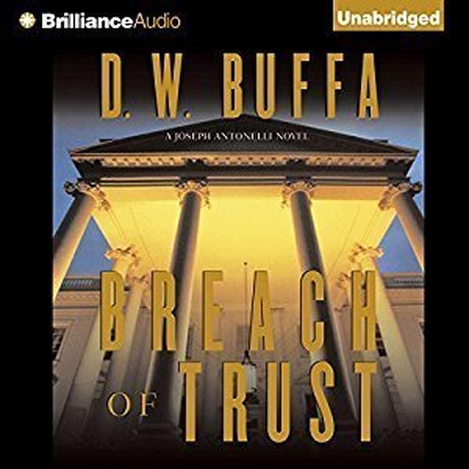 Printable Breach of Trust Audiobook Cover Art