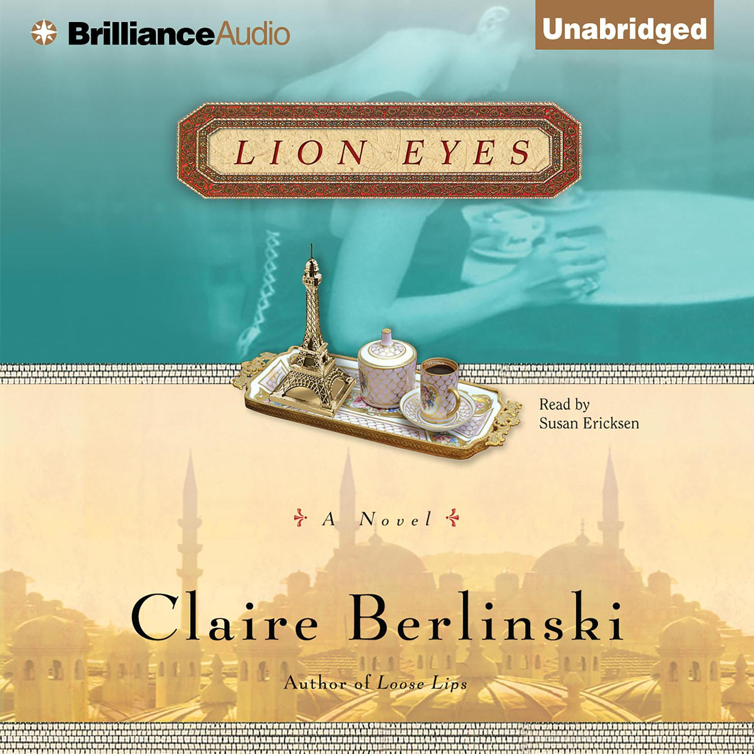 Printable Lion Eyes: A Novel Audiobook Cover Art