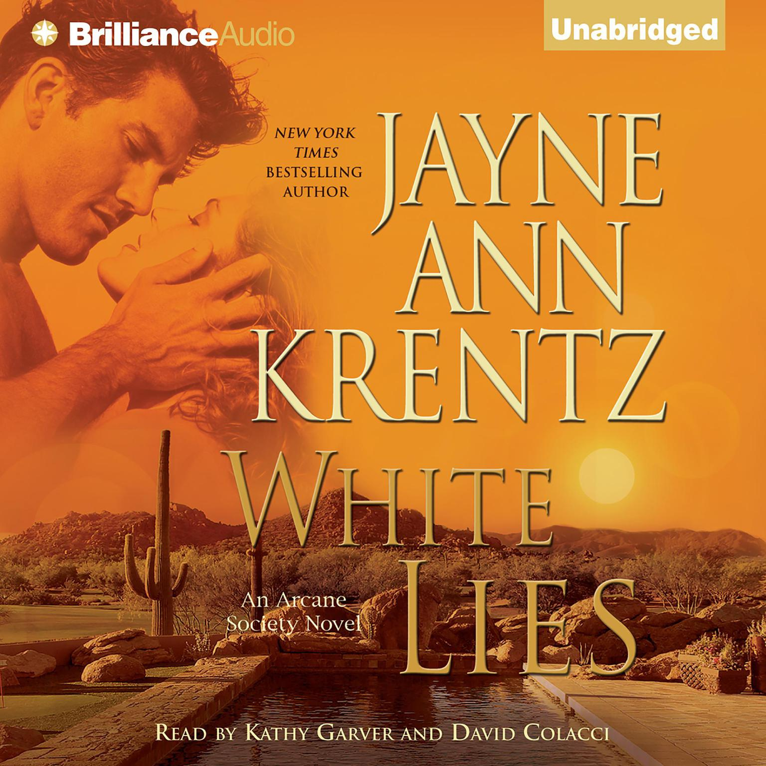 Printable White Lies Audiobook Cover Art