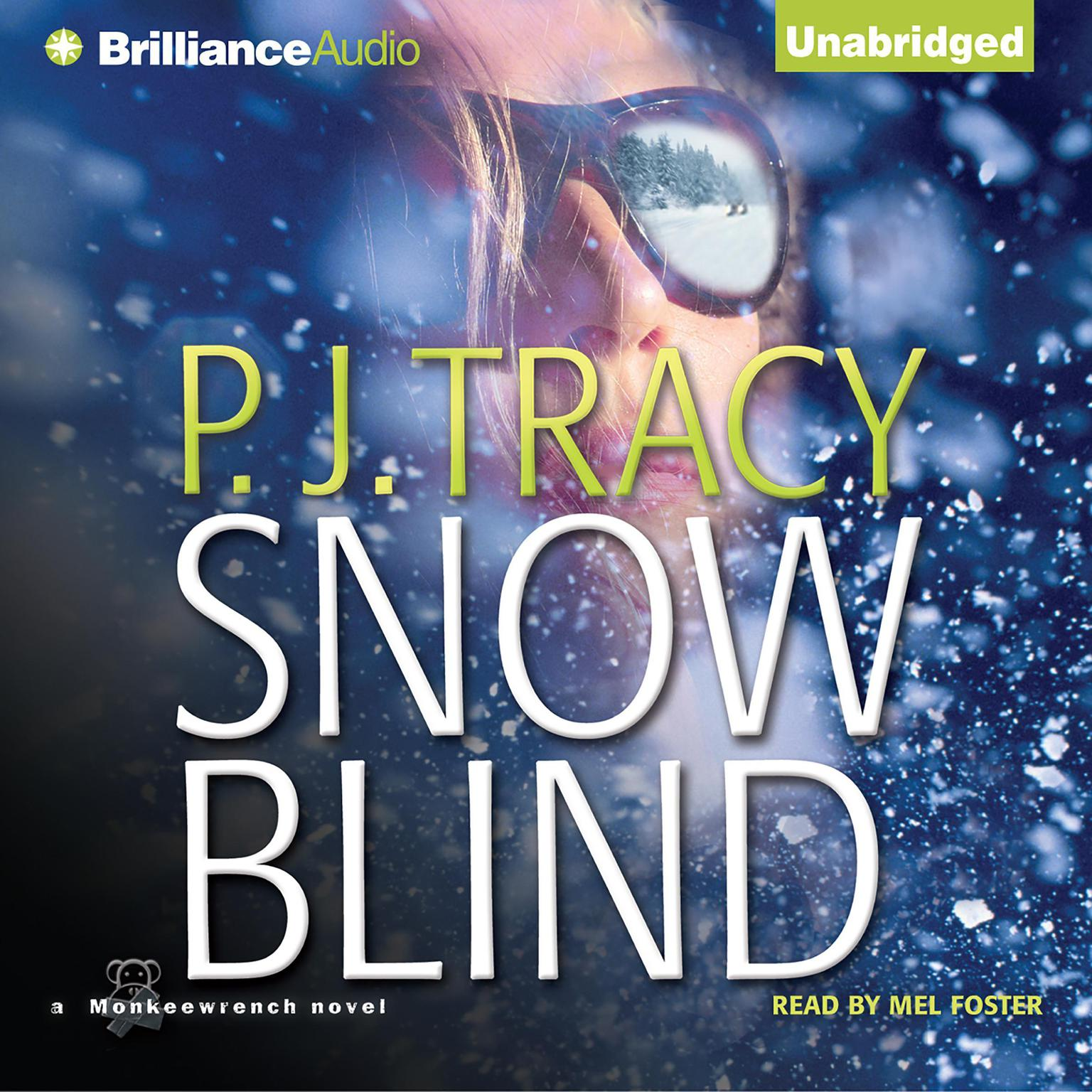 Printable Snow Blind Audiobook Cover Art