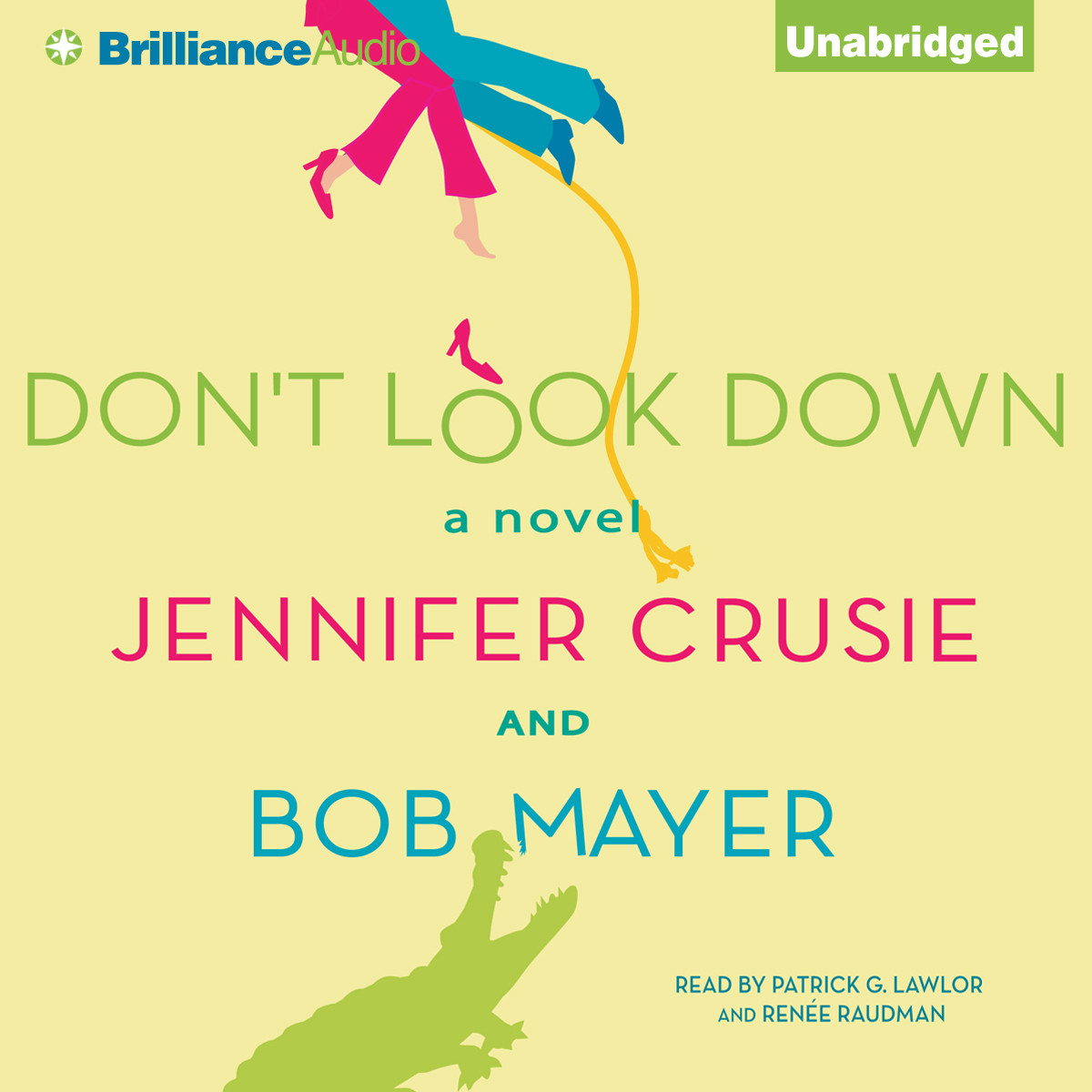 Printable Don't Look Down Audiobook Cover Art