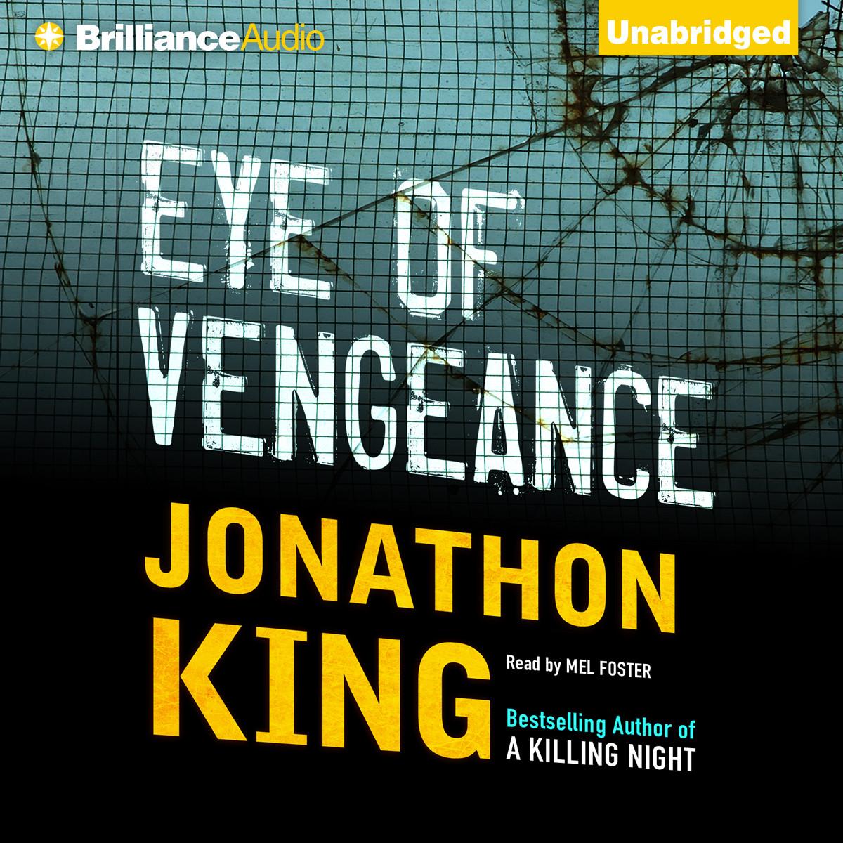 Printable Eye of Vengeance Audiobook Cover Art