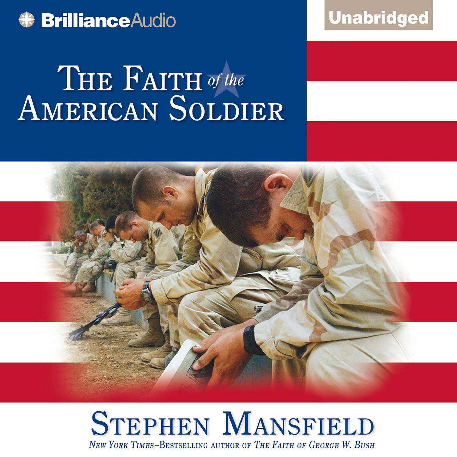 Printable The Faith of the American Soldier Audiobook Cover Art