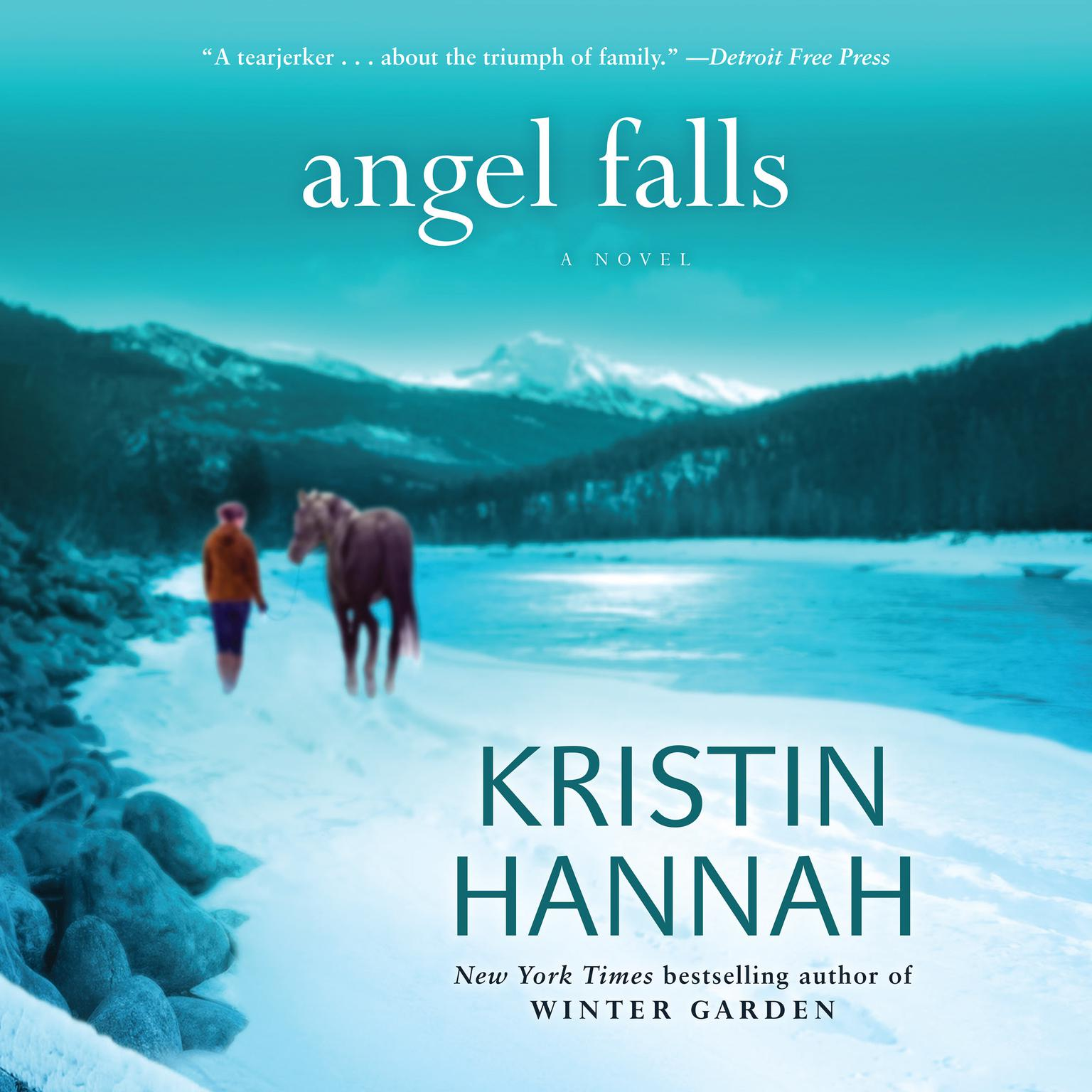 Printable Angel Falls Audiobook Cover Art