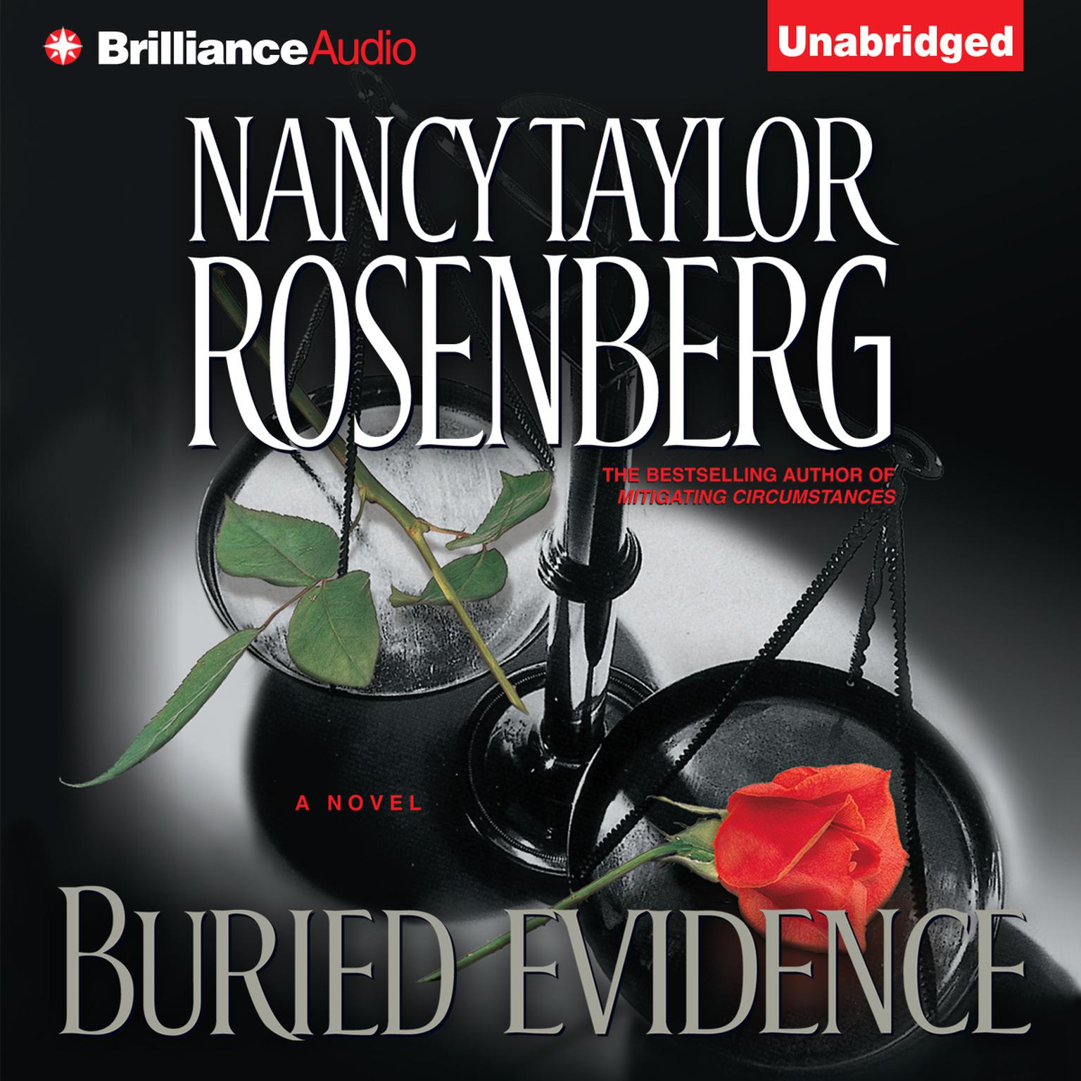Printable Buried Evidence Audiobook Cover Art