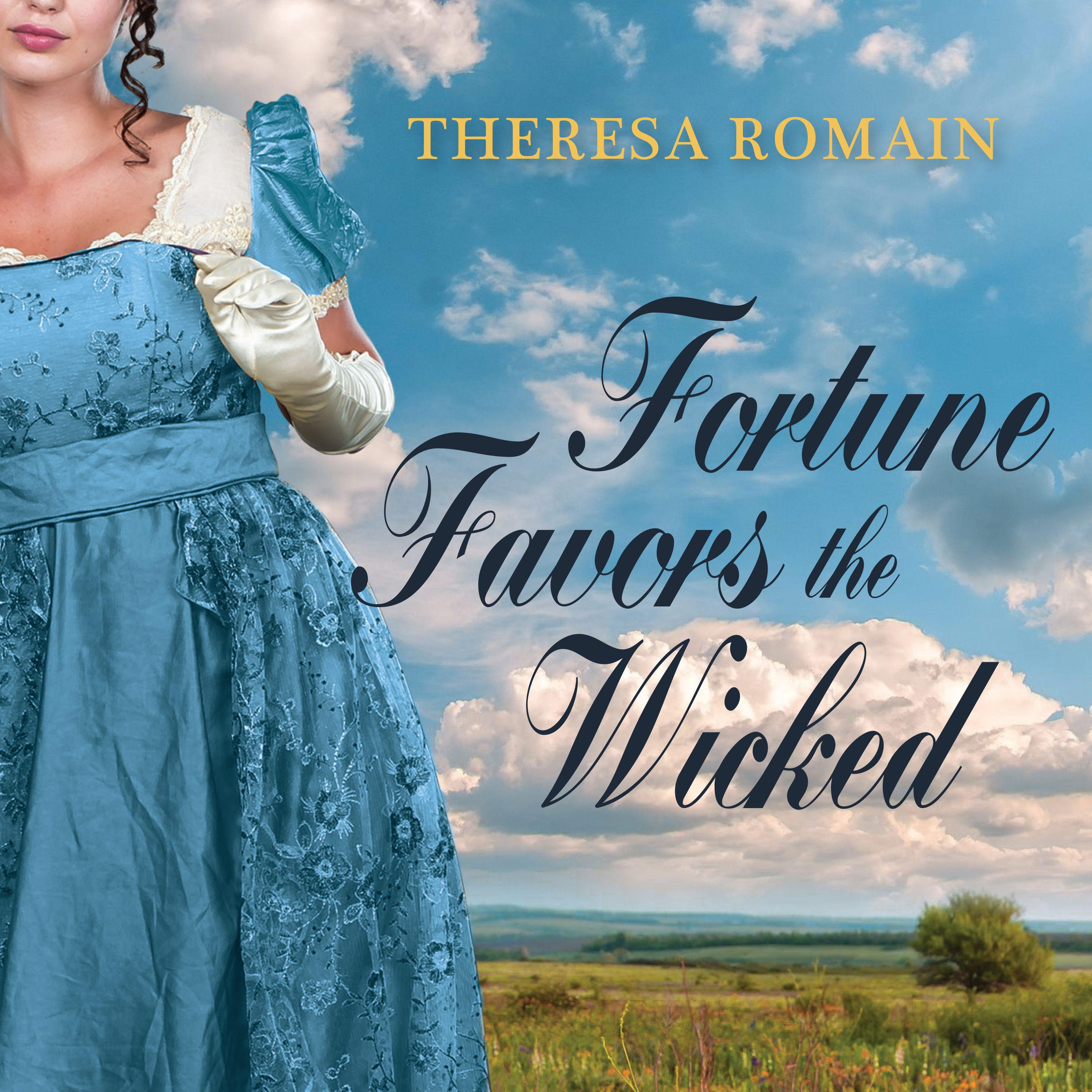 Printable Fortune Favors the Wicked Audiobook Cover Art