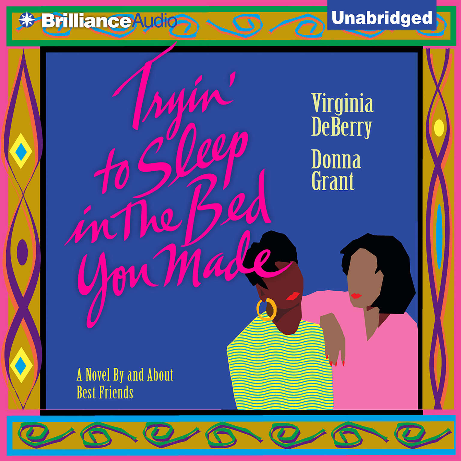 Printable Tryin' To Sleep In the Bed You Made Audiobook Cover Art