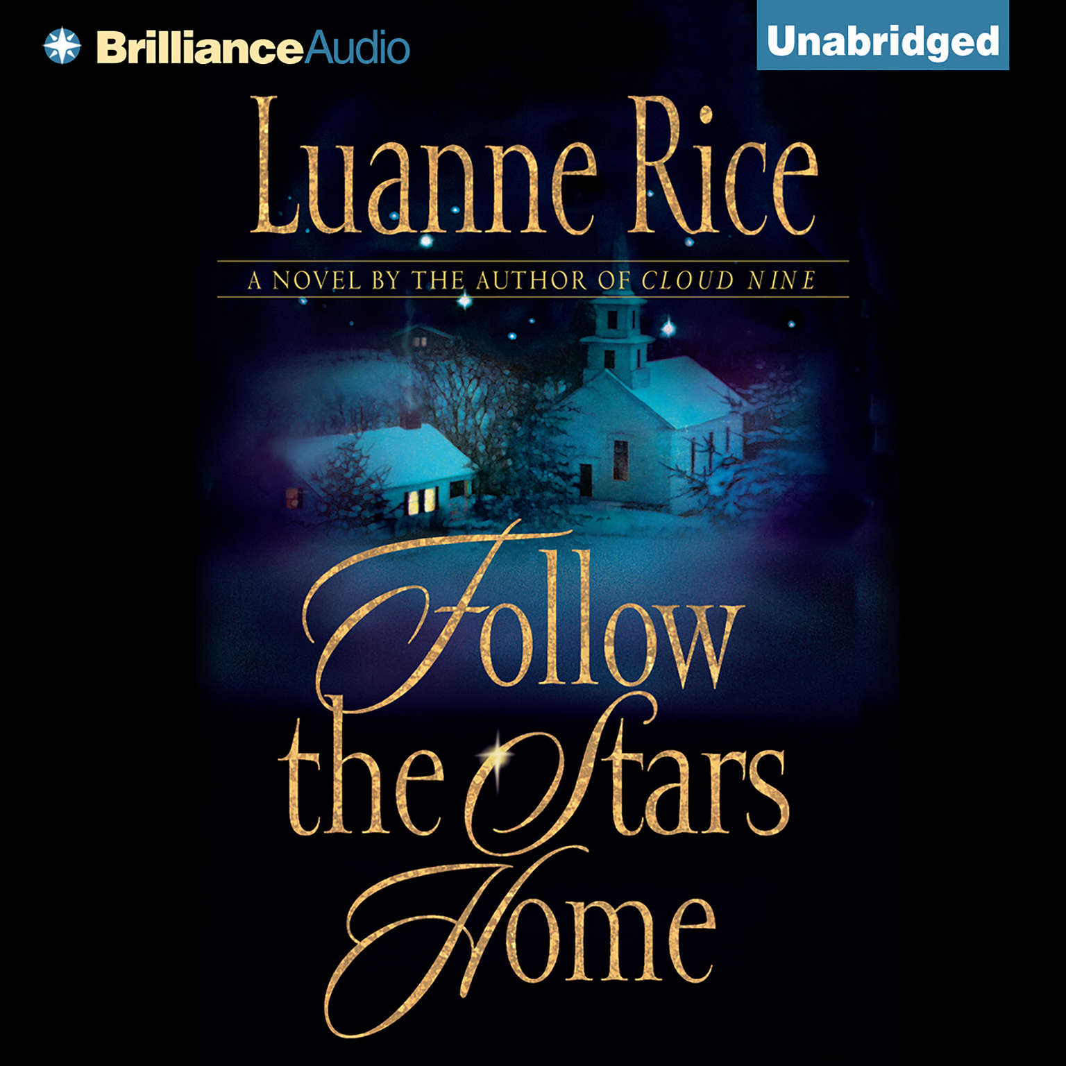 Printable Follow the Stars Home Audiobook Cover Art