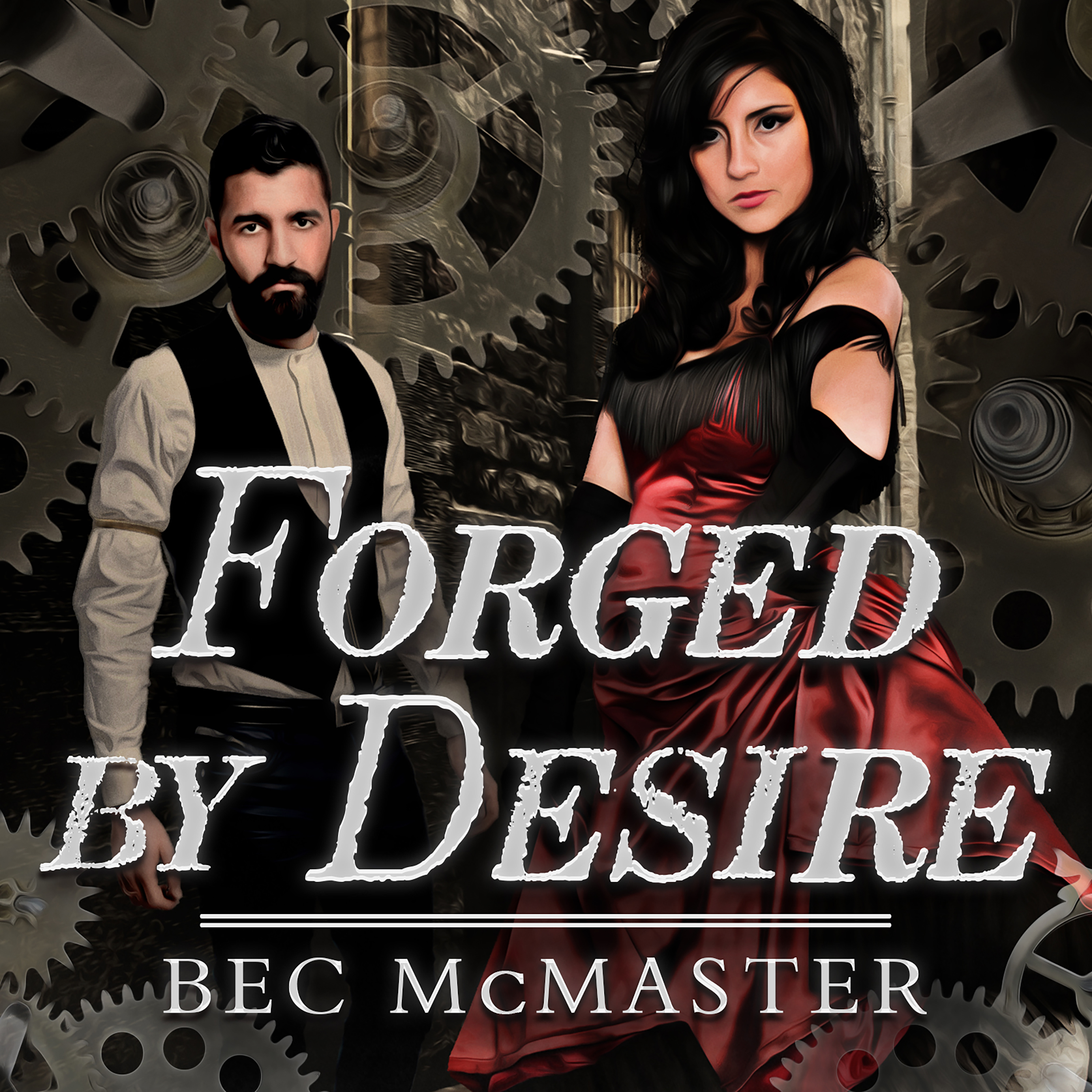 Printable Forged by Desire Audiobook Cover Art