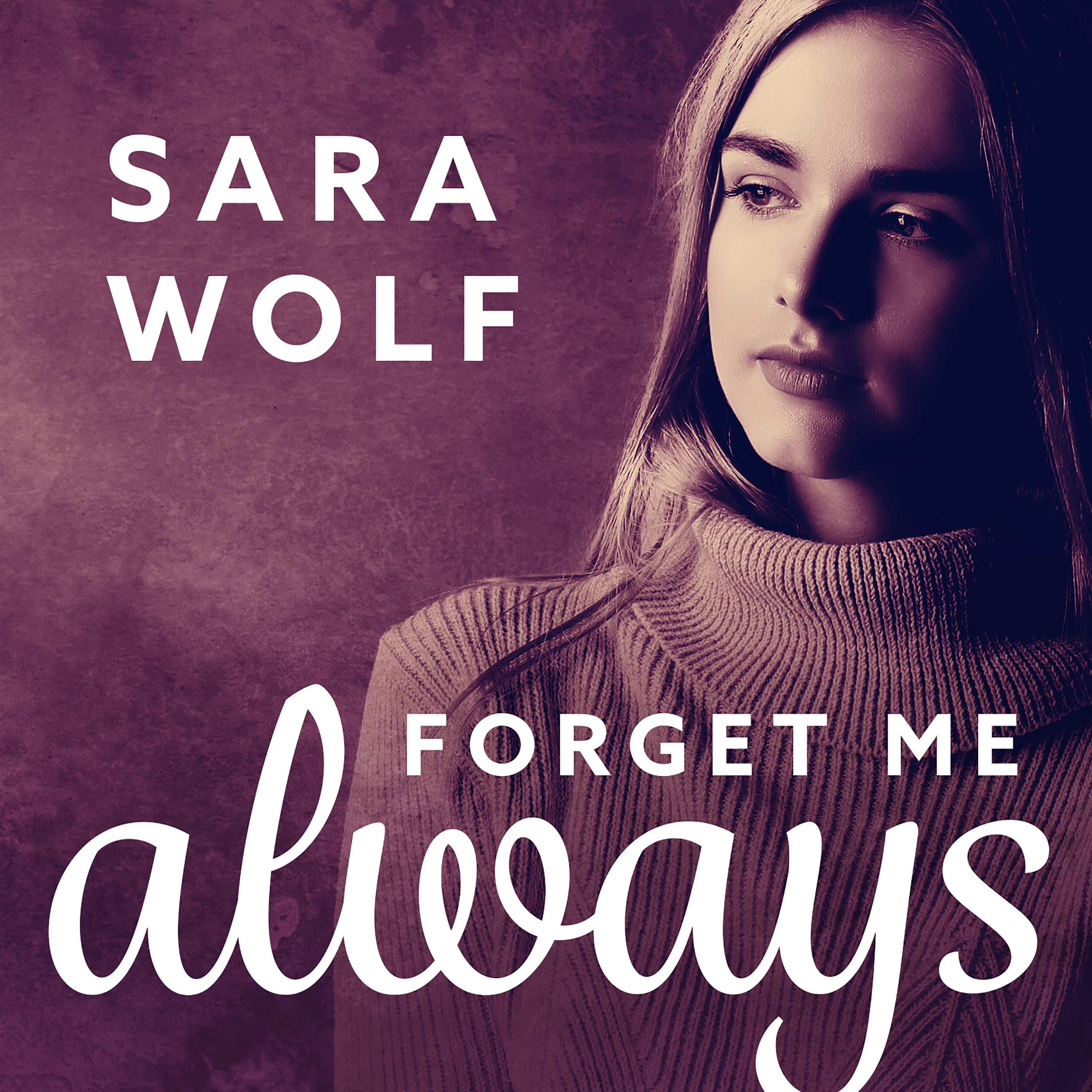 Printable Forget Me Always Audiobook Cover Art