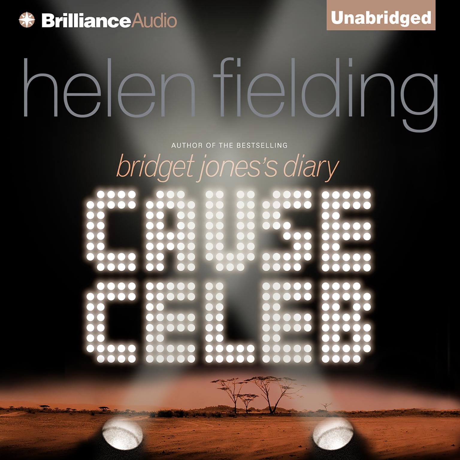 Printable Cause Celeb Audiobook Cover Art