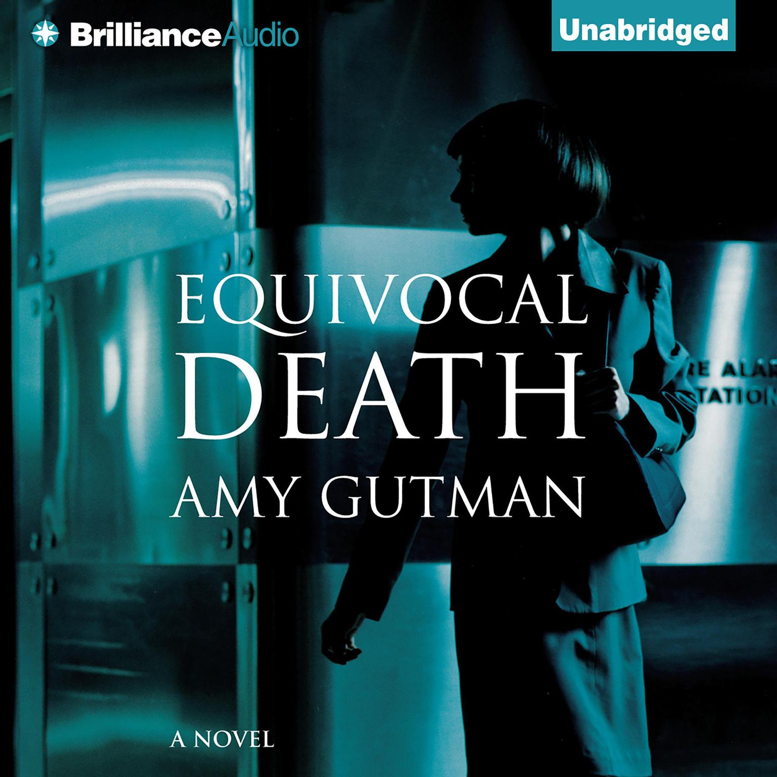 Printable Equivocal Death Audiobook Cover Art