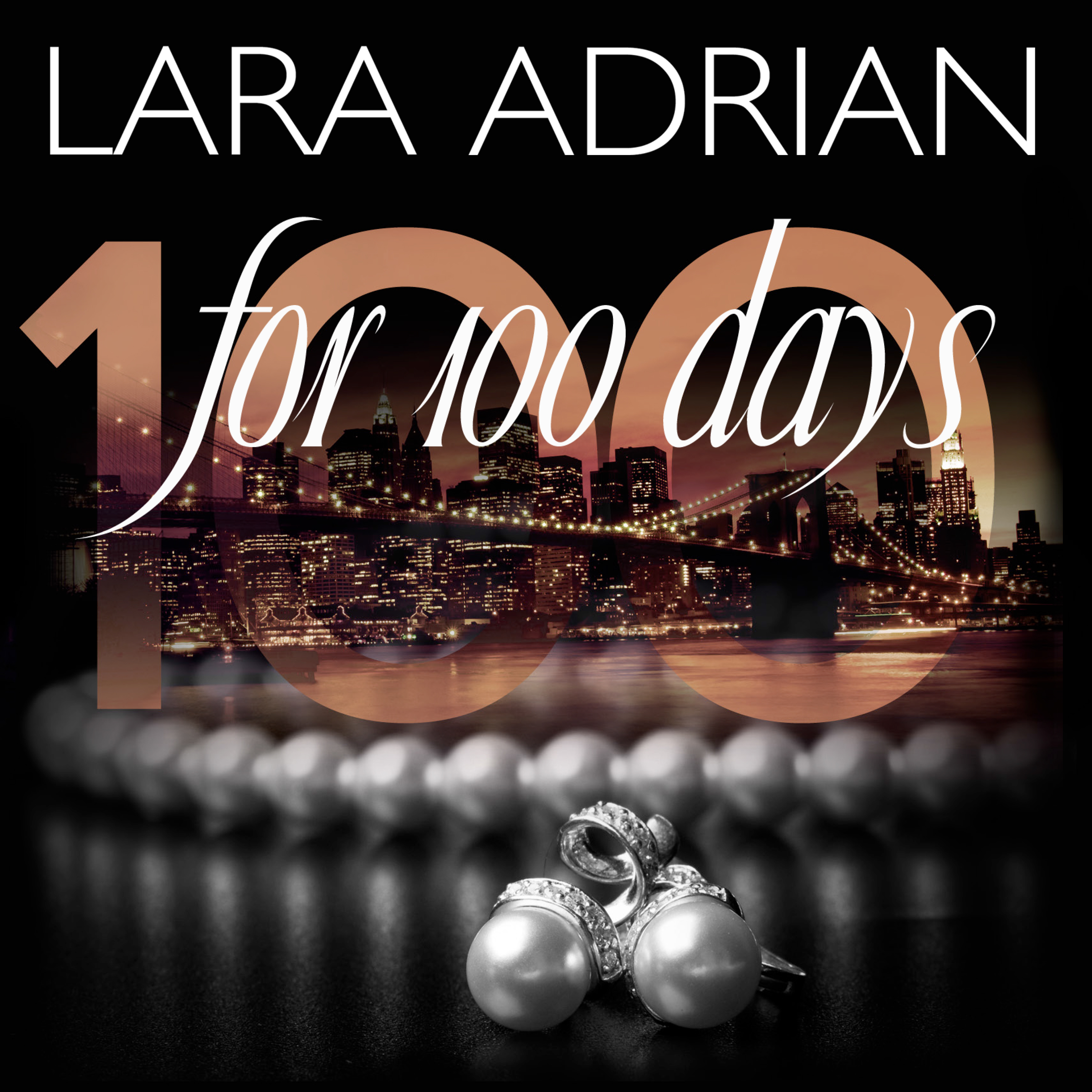 Printable For 100 Days Audiobook Cover Art