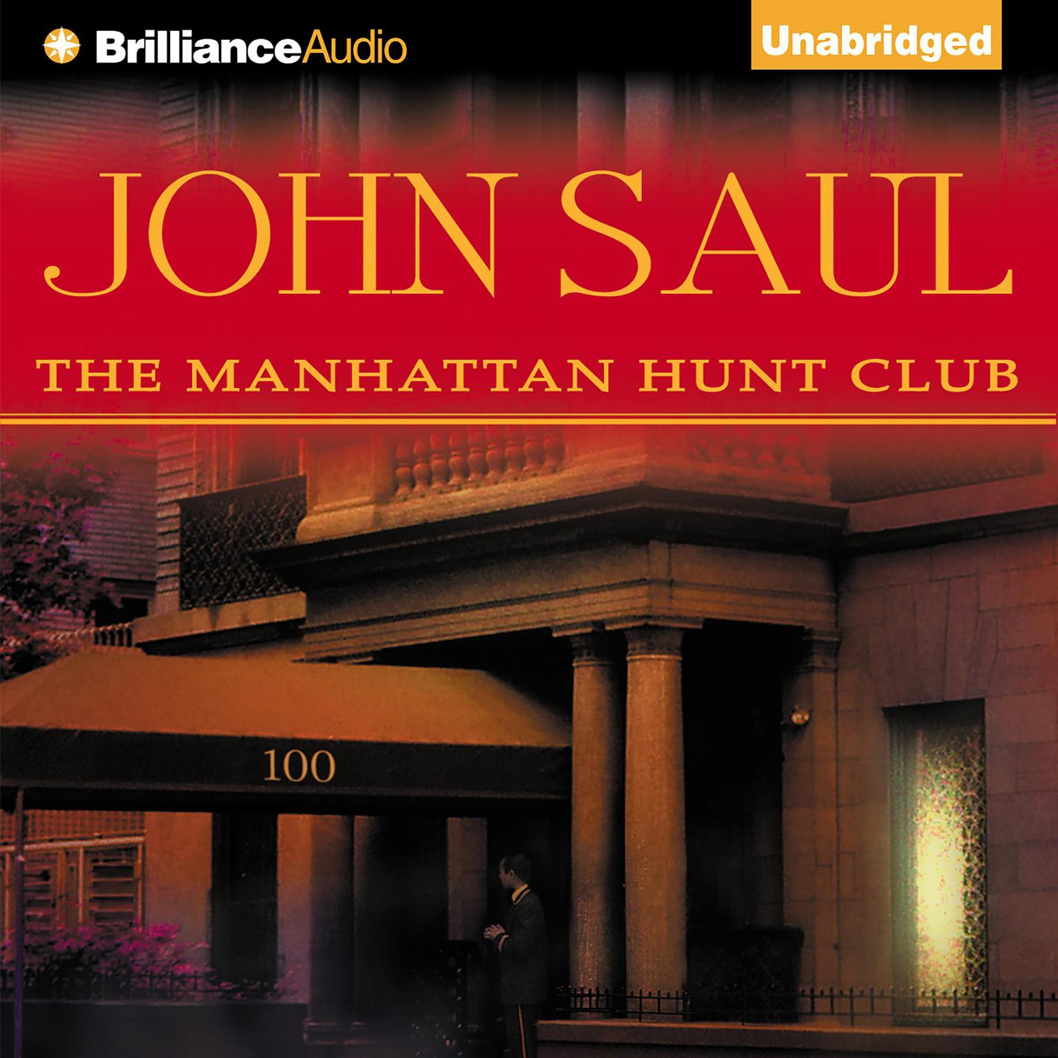 Printable The Manhattan Hunt Club Audiobook Cover Art