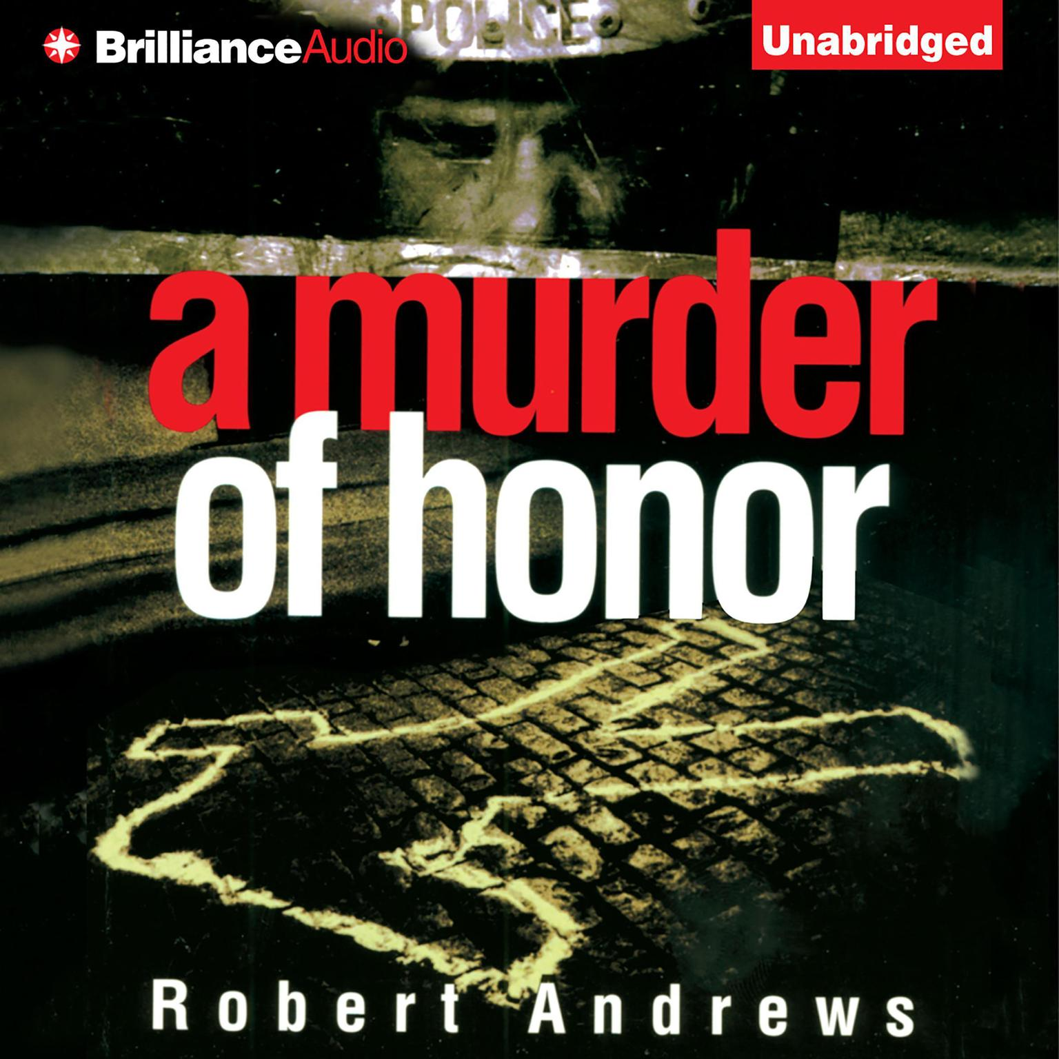 Printable A Murder of Honor Audiobook Cover Art