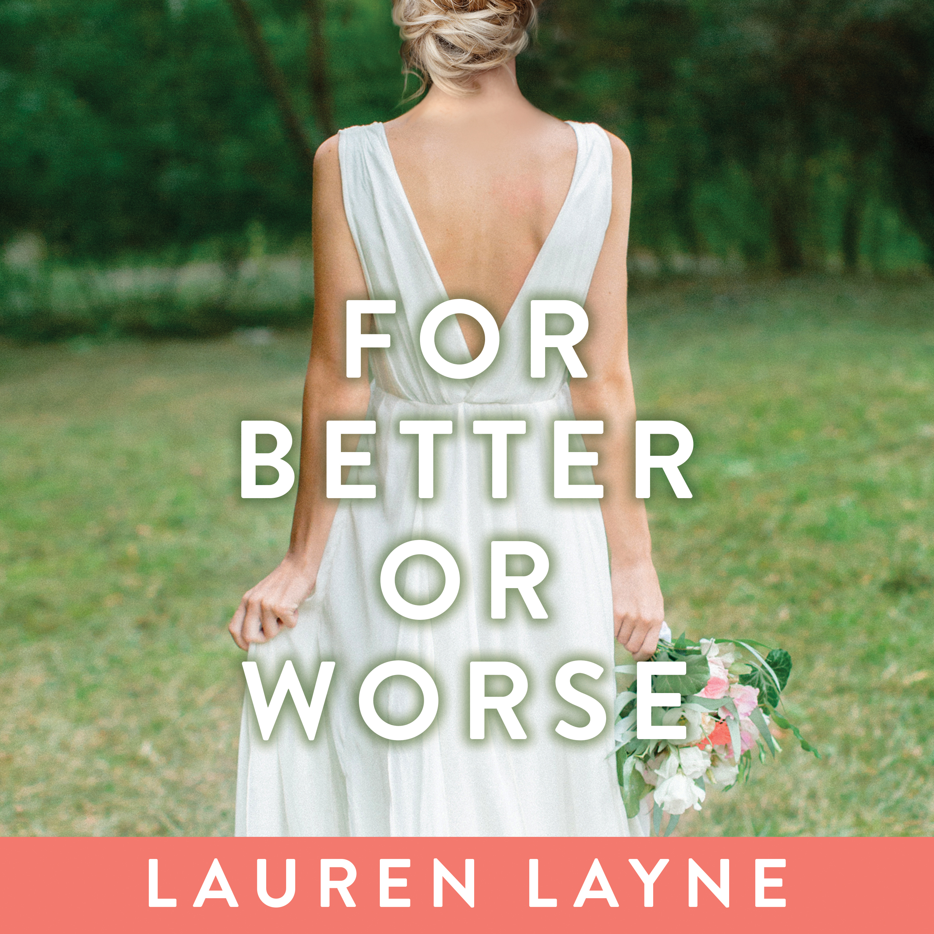 Printable For Better or Worse Audiobook Cover Art