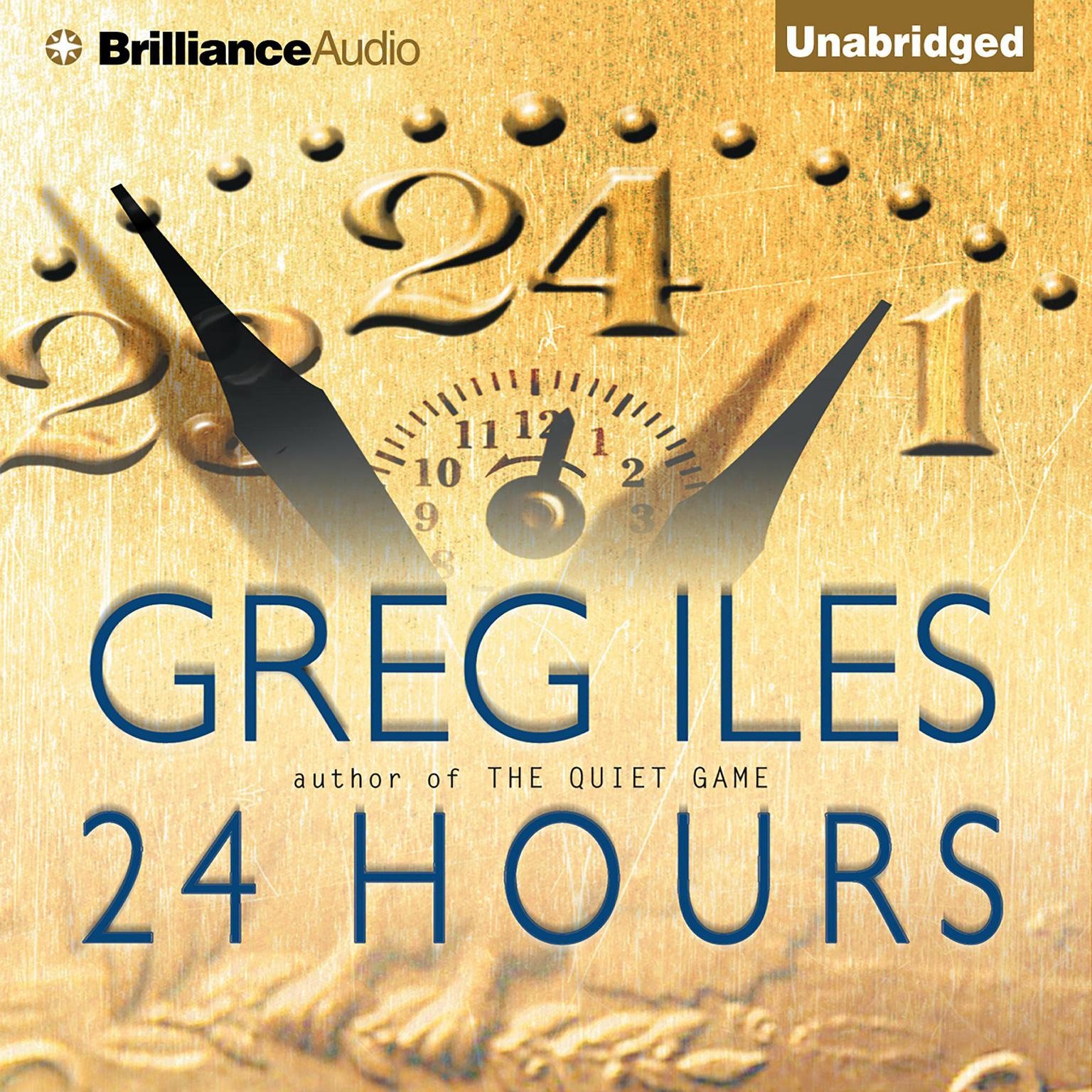Printable 24 Hours Audiobook Cover Art