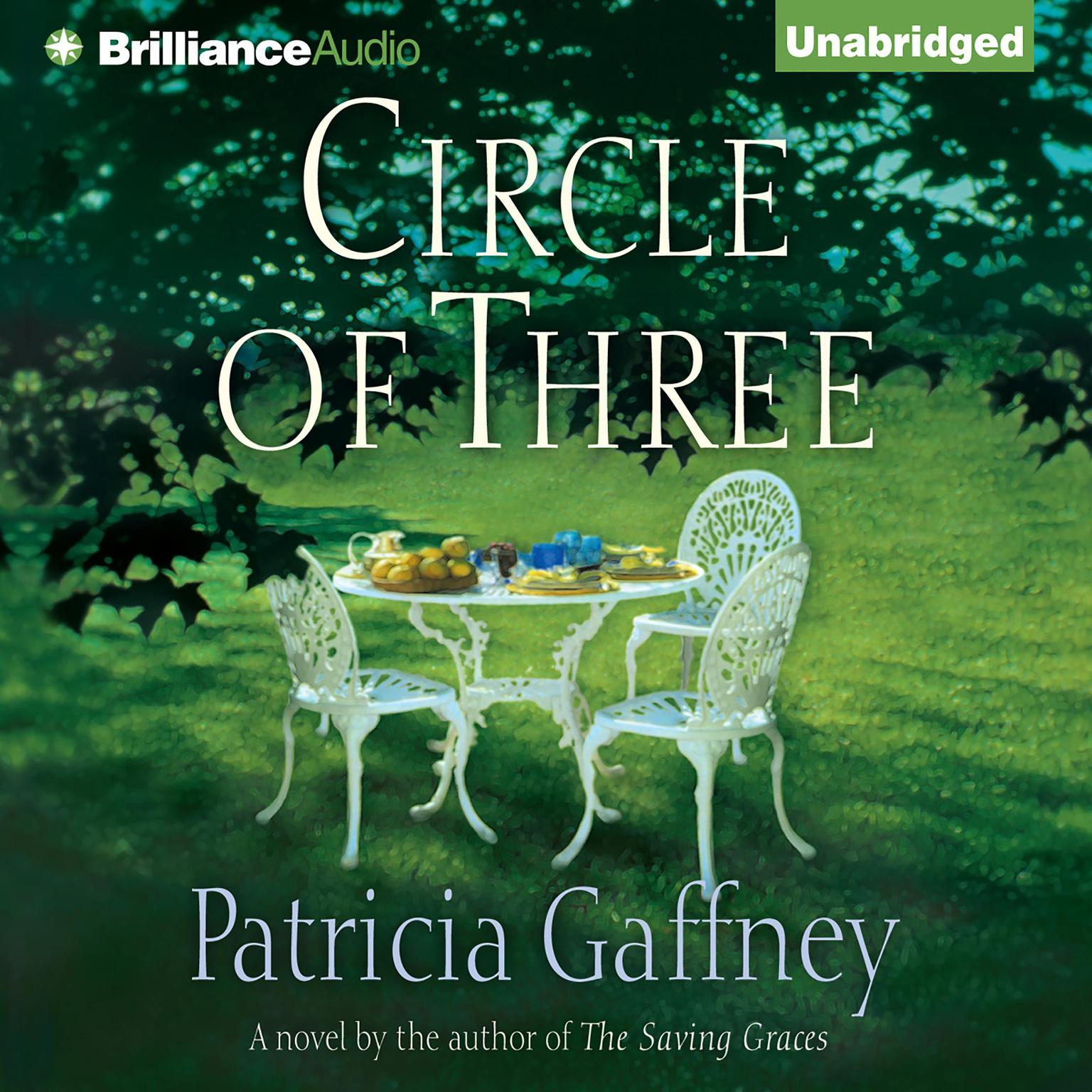 Printable Circle of Three Audiobook Cover Art