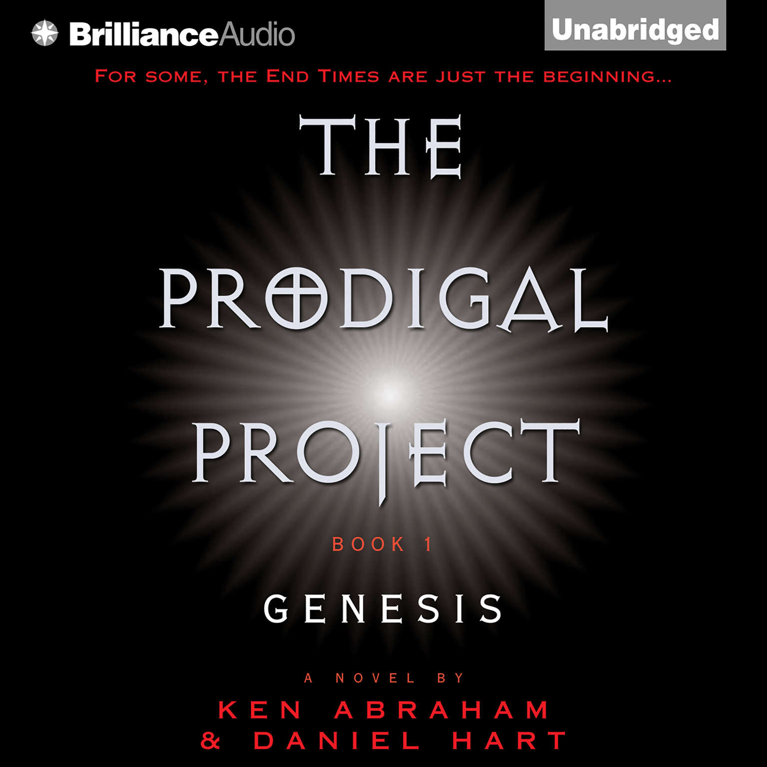 Printable The Prodigal Project: Genesis Audiobook Cover Art