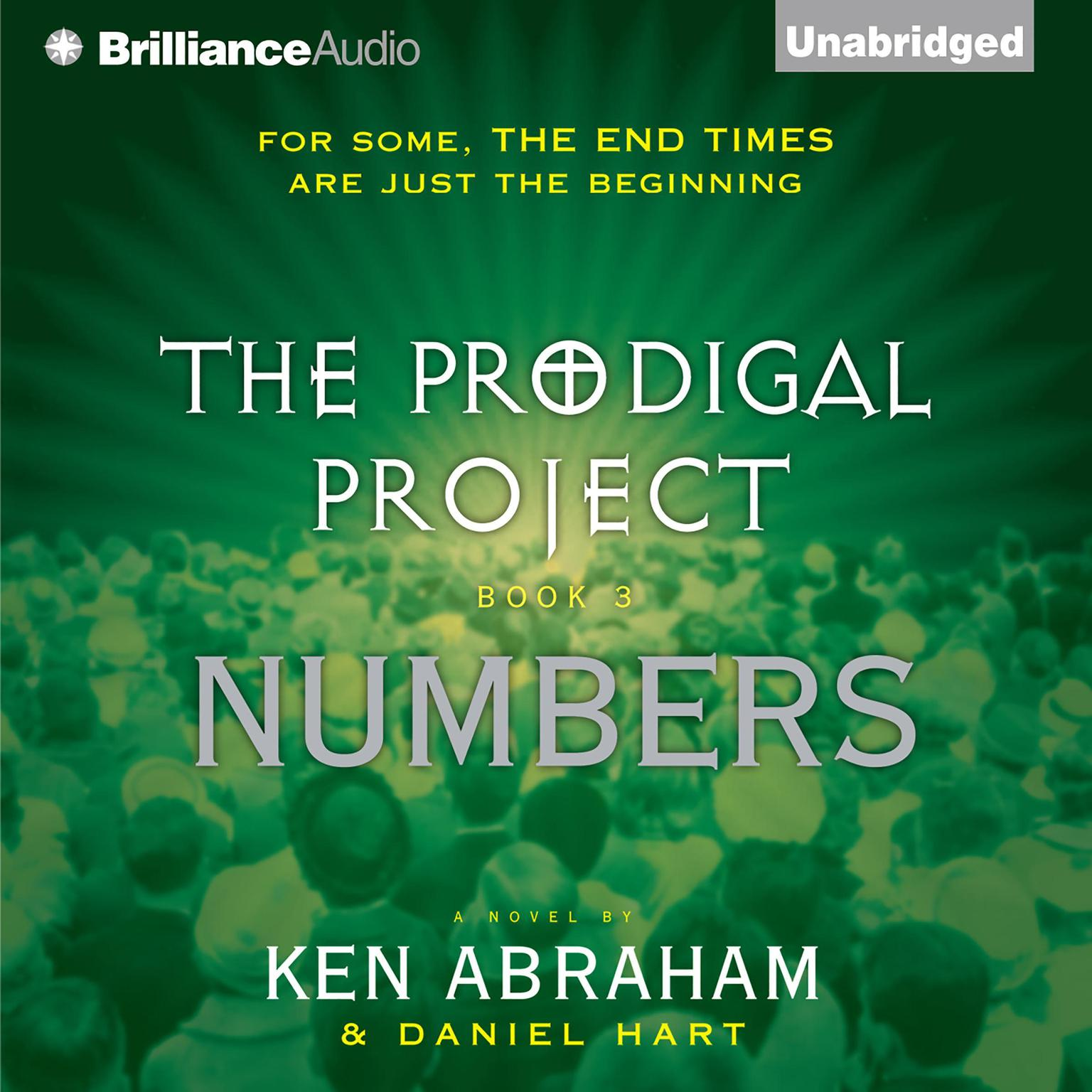 Printable The Prodigal Project: Numbers Audiobook Cover Art