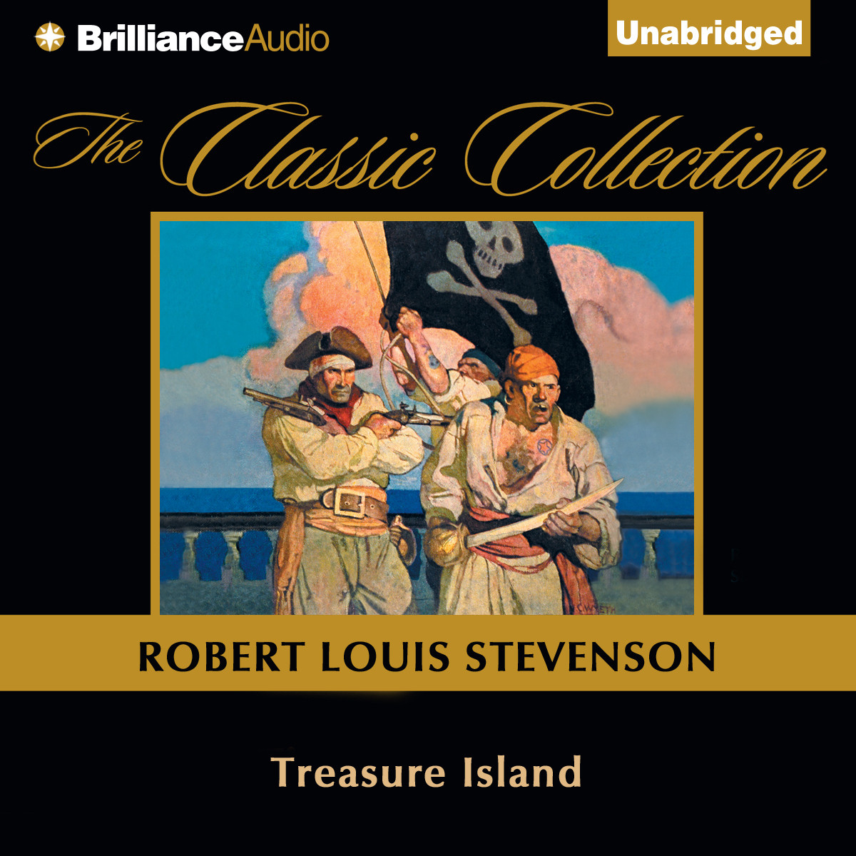 Printable Treasure Island Audiobook Cover Art