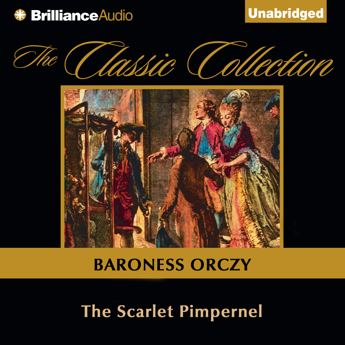 Printable The Scarlet Pimpernel Audiobook Cover Art
